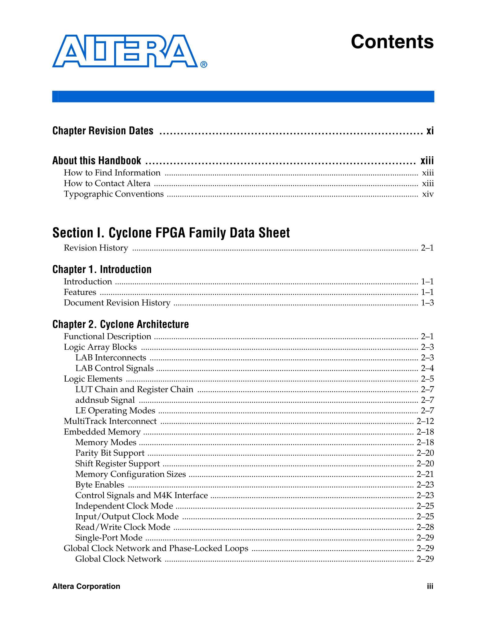 Altera EP1C6Q240C8N's pdf picture 3