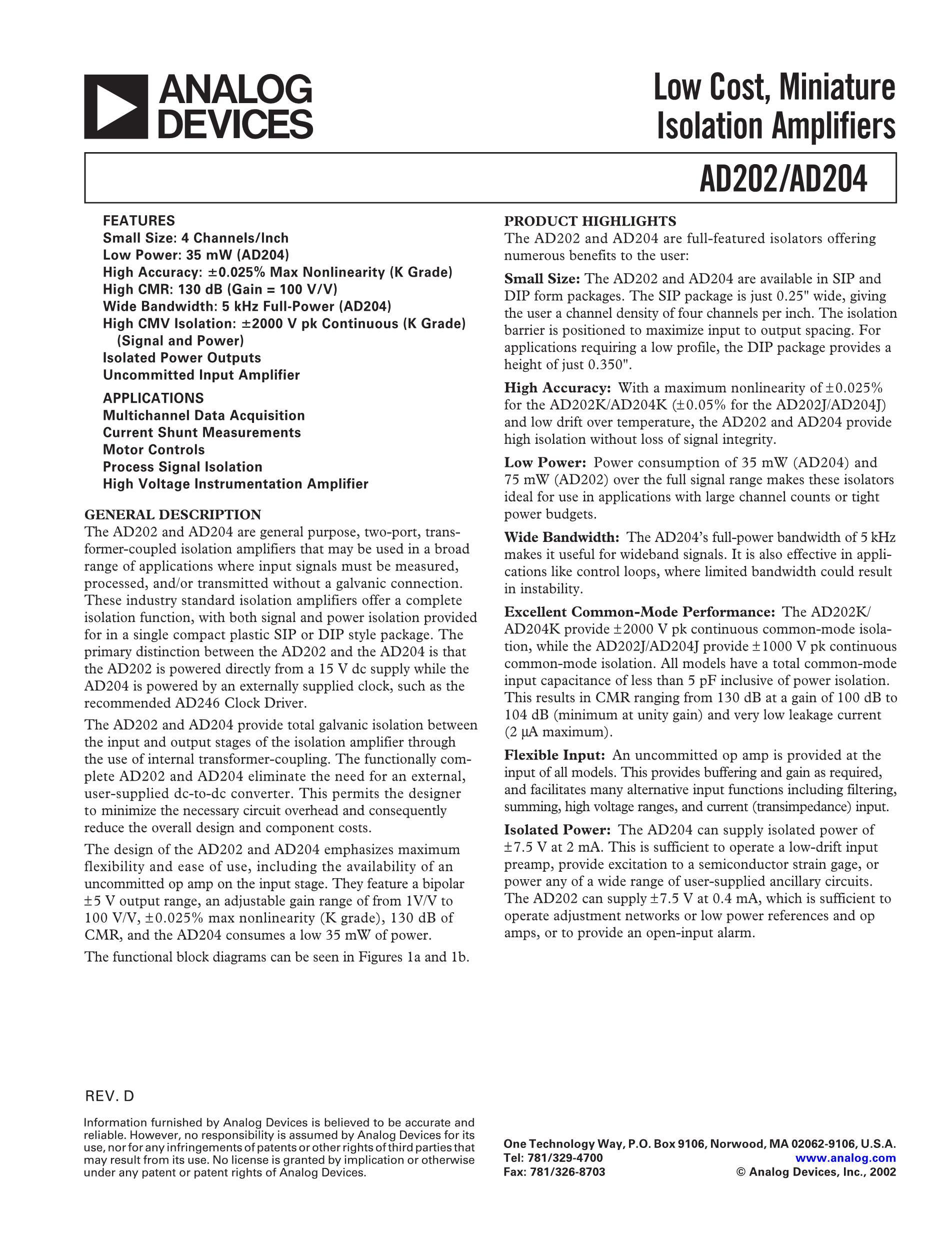 AD206AR's pdf picture 1