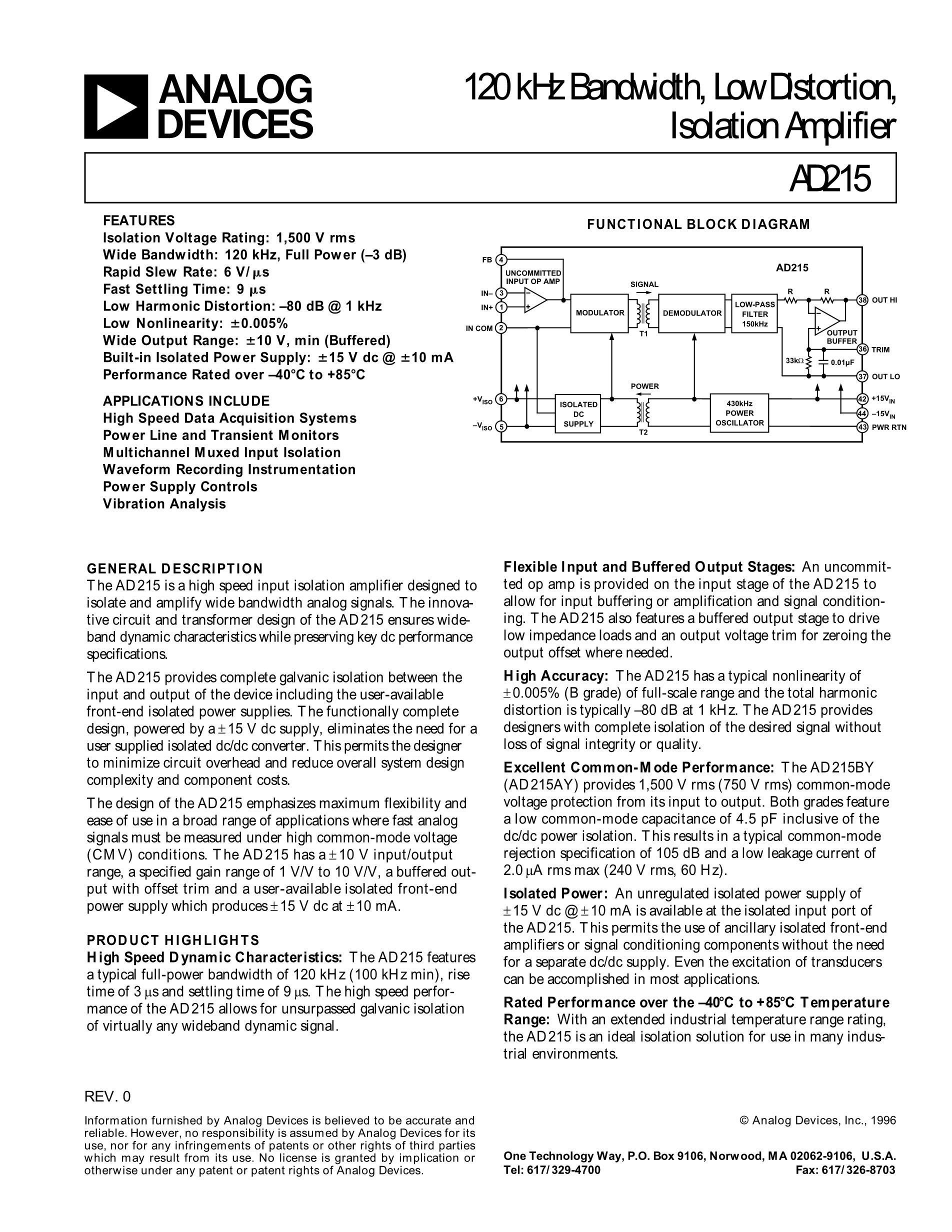 AD211AR's pdf picture 1