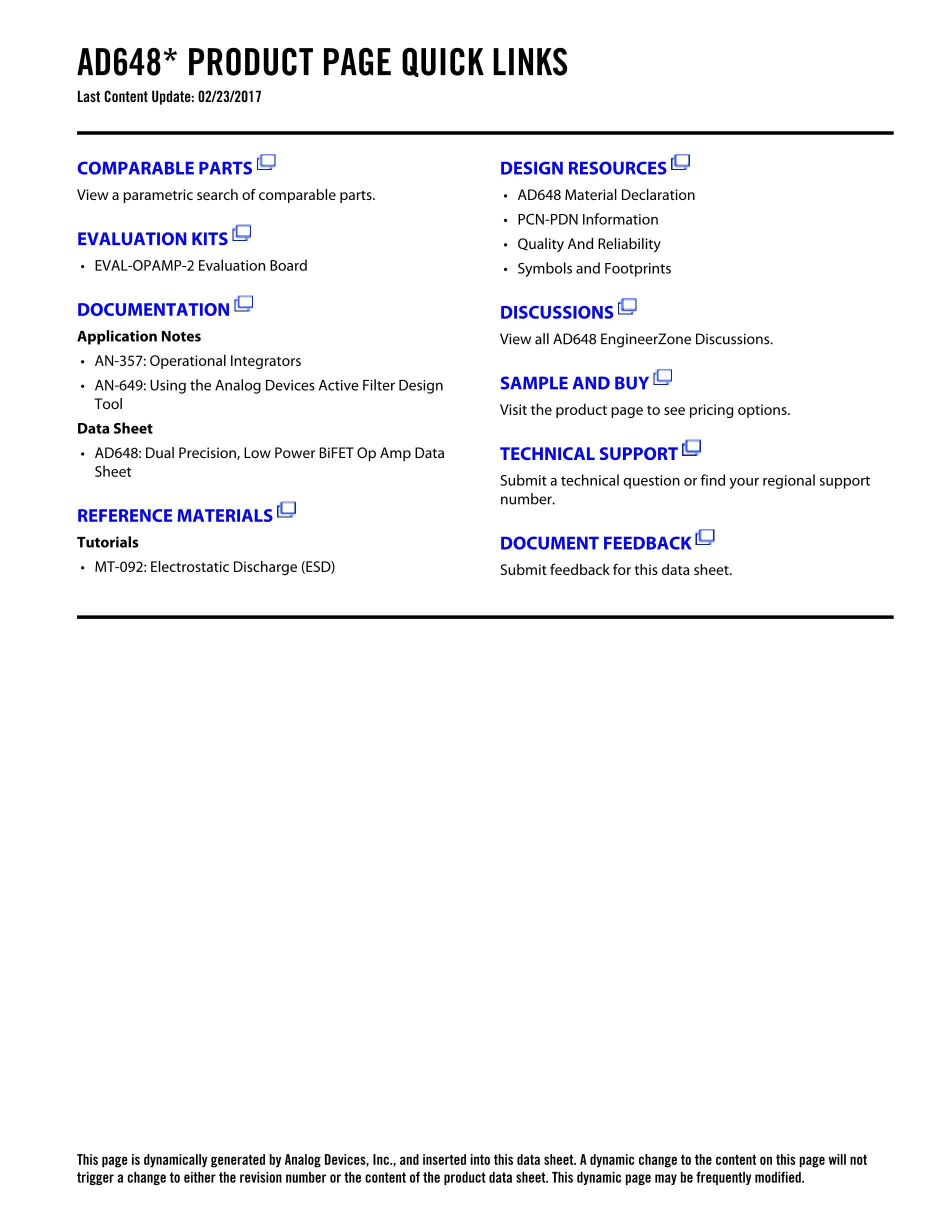 AD648KRZ's pdf picture 2