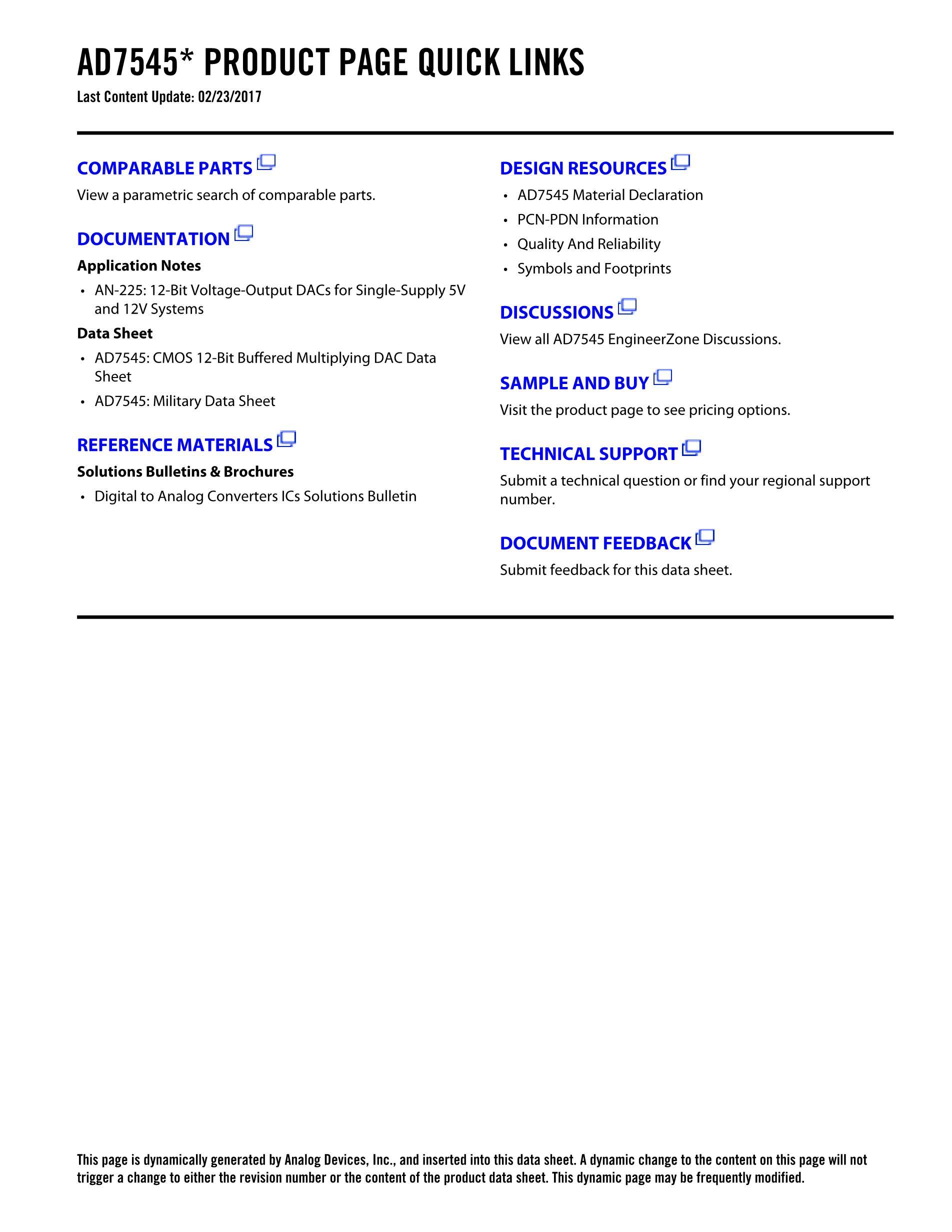 AD7545's pdf picture 2
