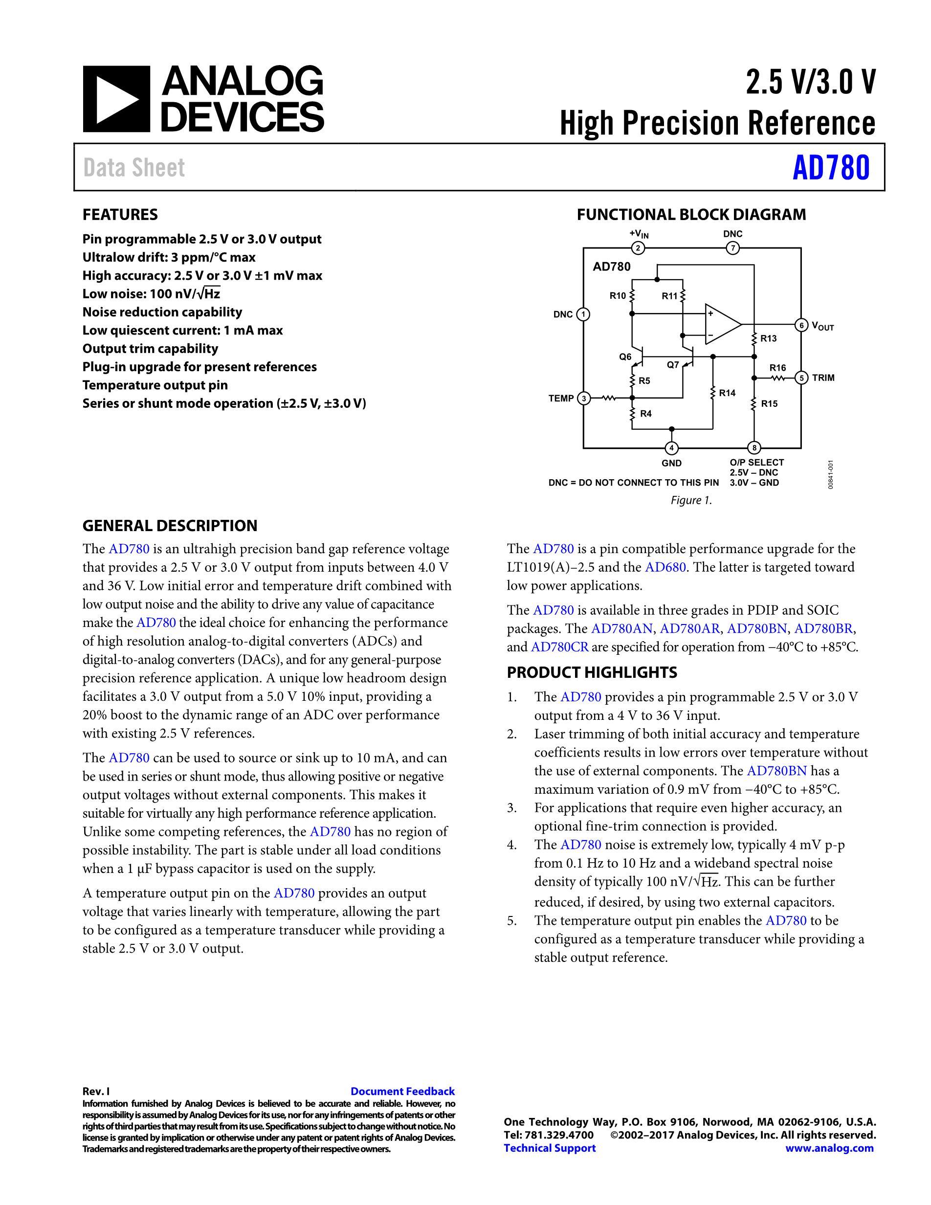 AD780BN's pdf picture 1