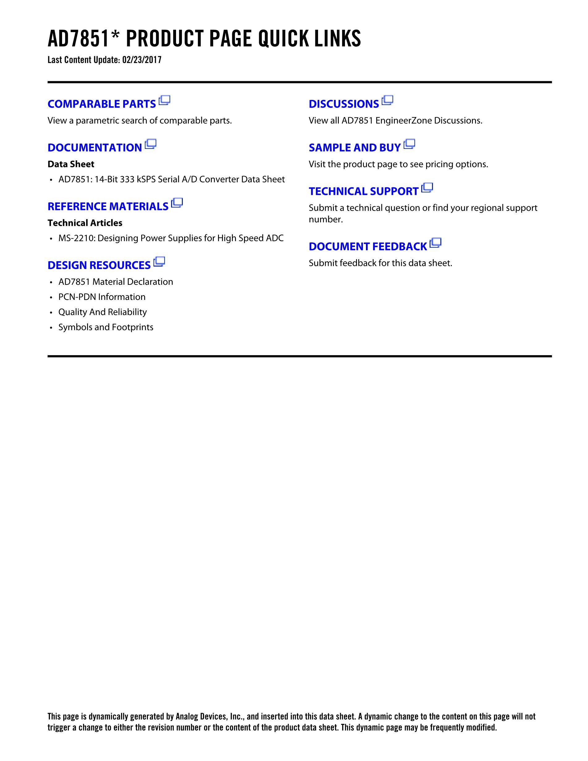 AD7851's pdf picture 2