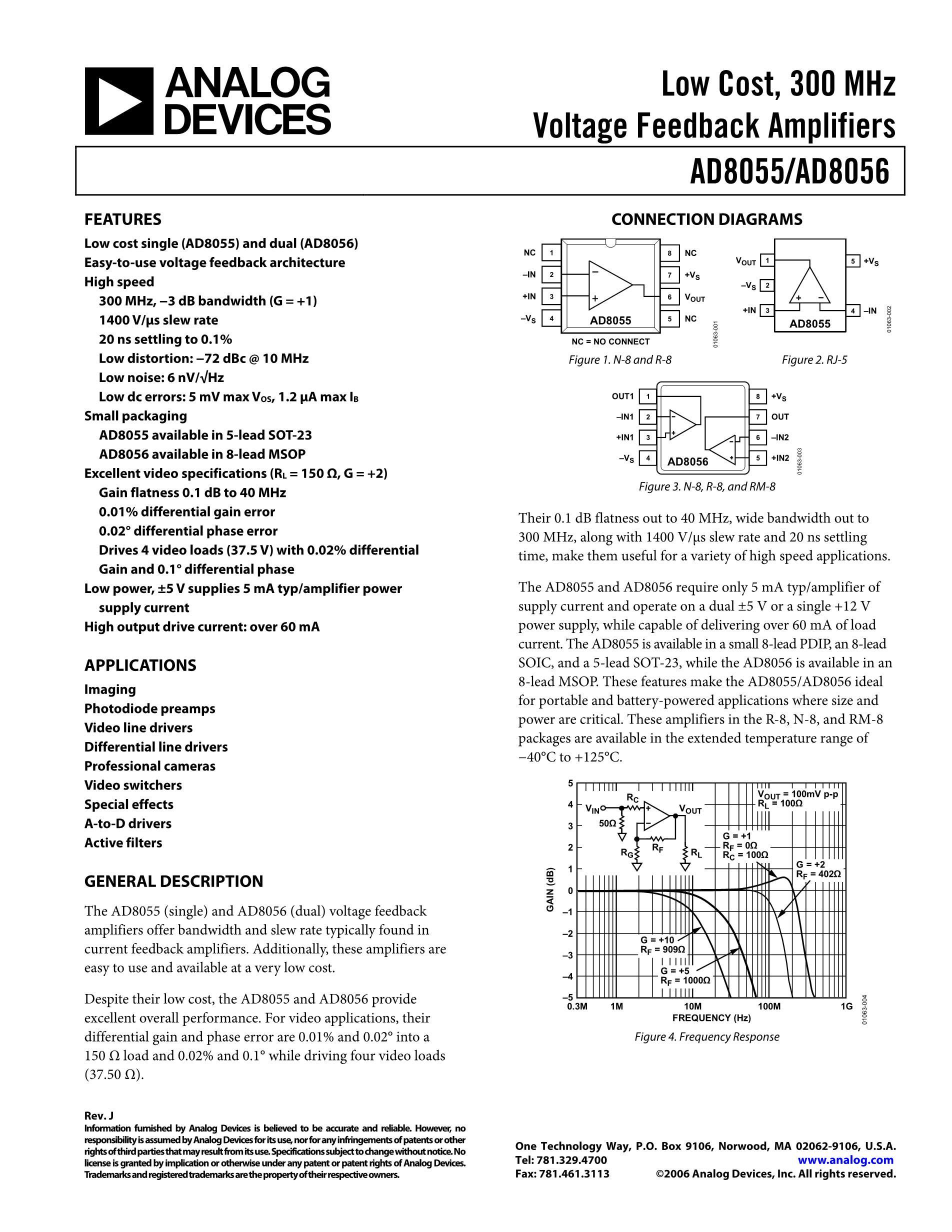 AD8056AR's pdf picture 1