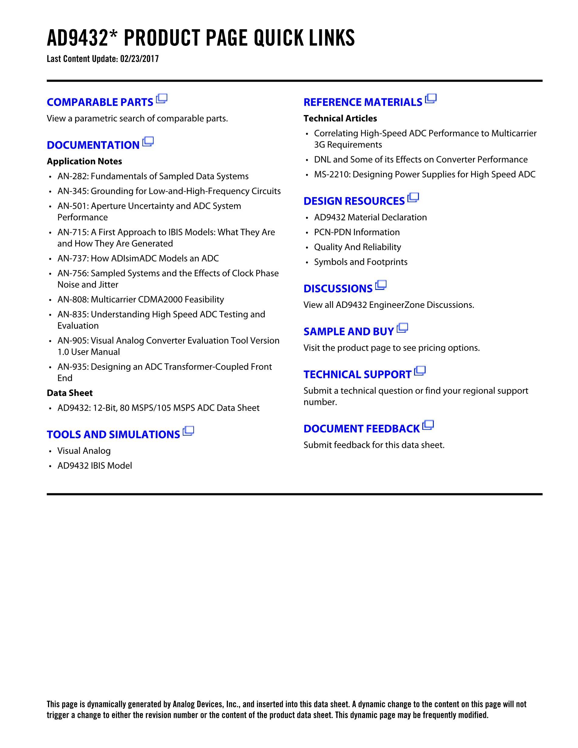 AD9446BSVZ-100's pdf picture 2