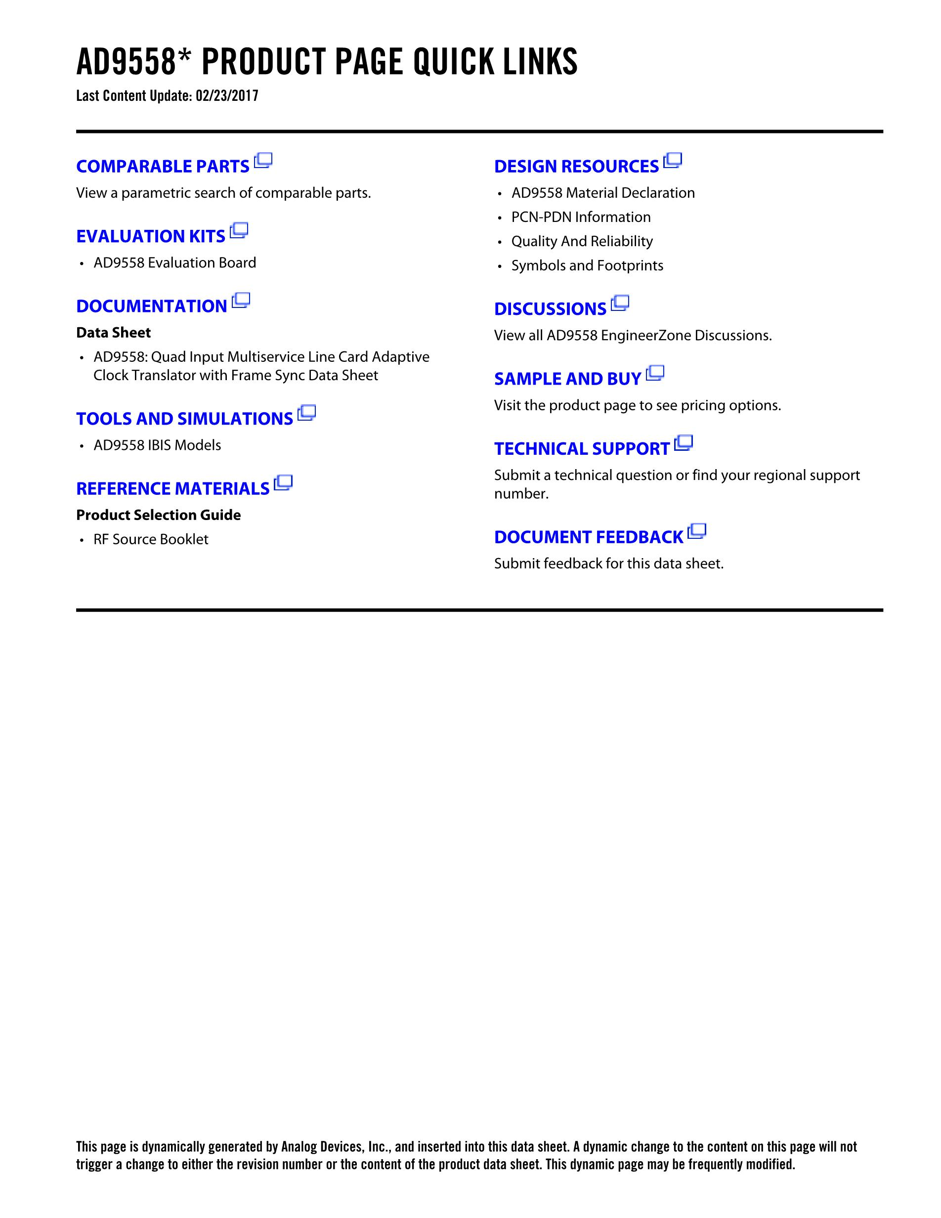 AD9561AR's pdf picture 2