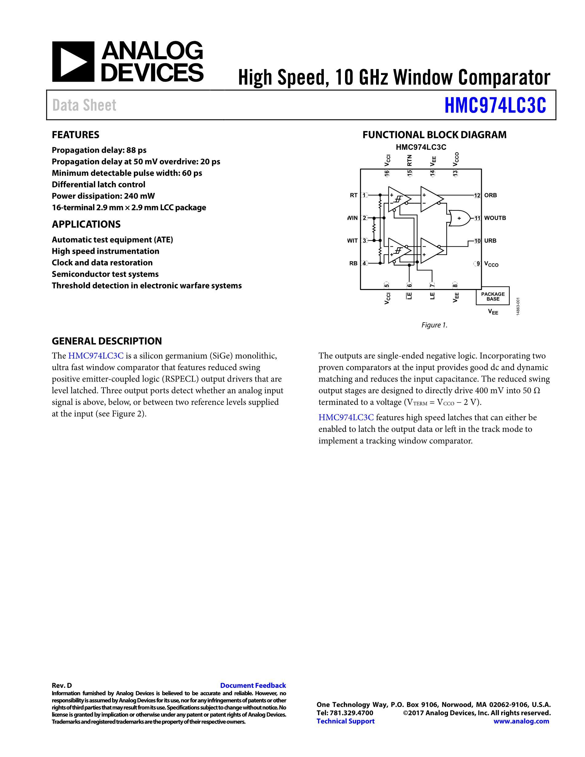 HMC914LP4ETR's pdf picture 1