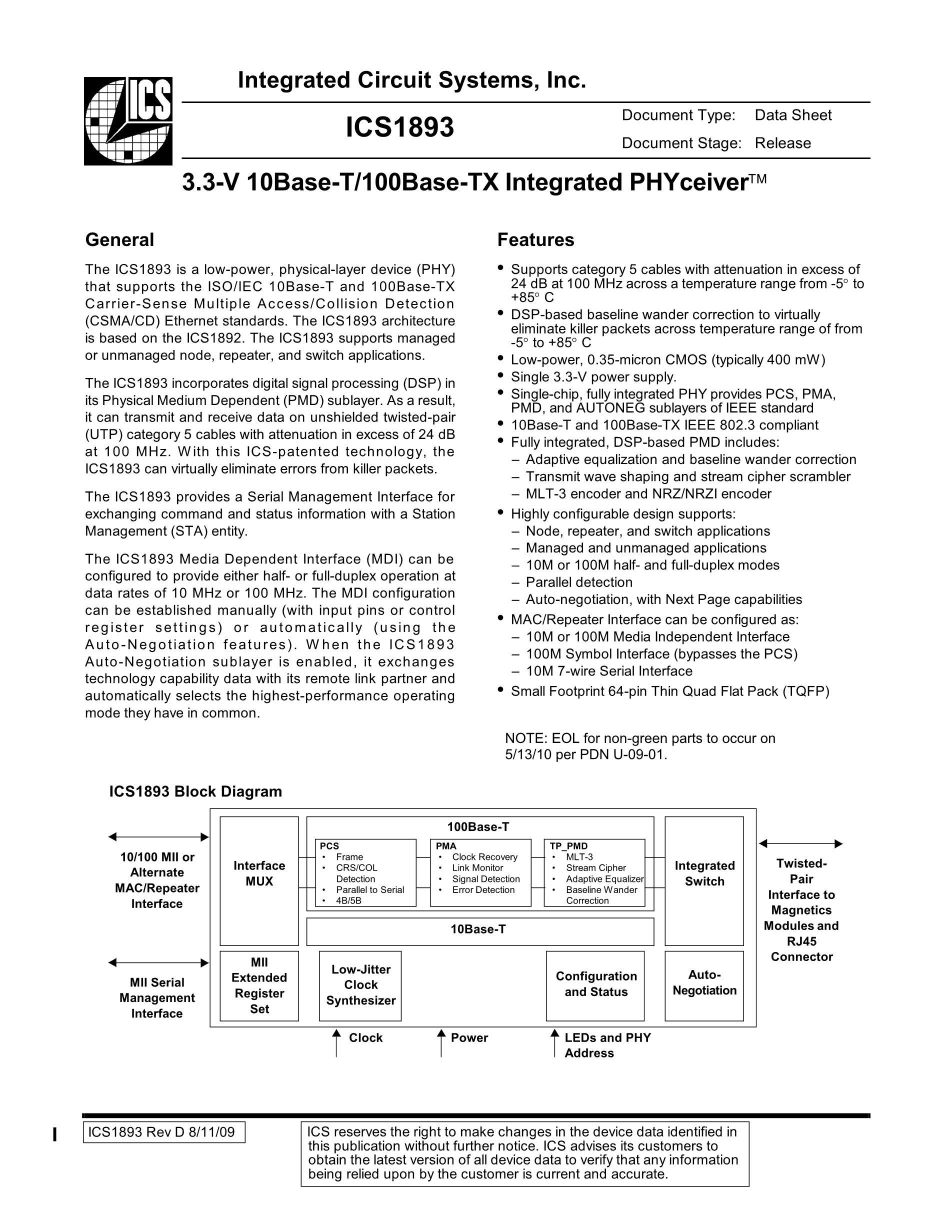 ICS1893BFI's pdf picture 1