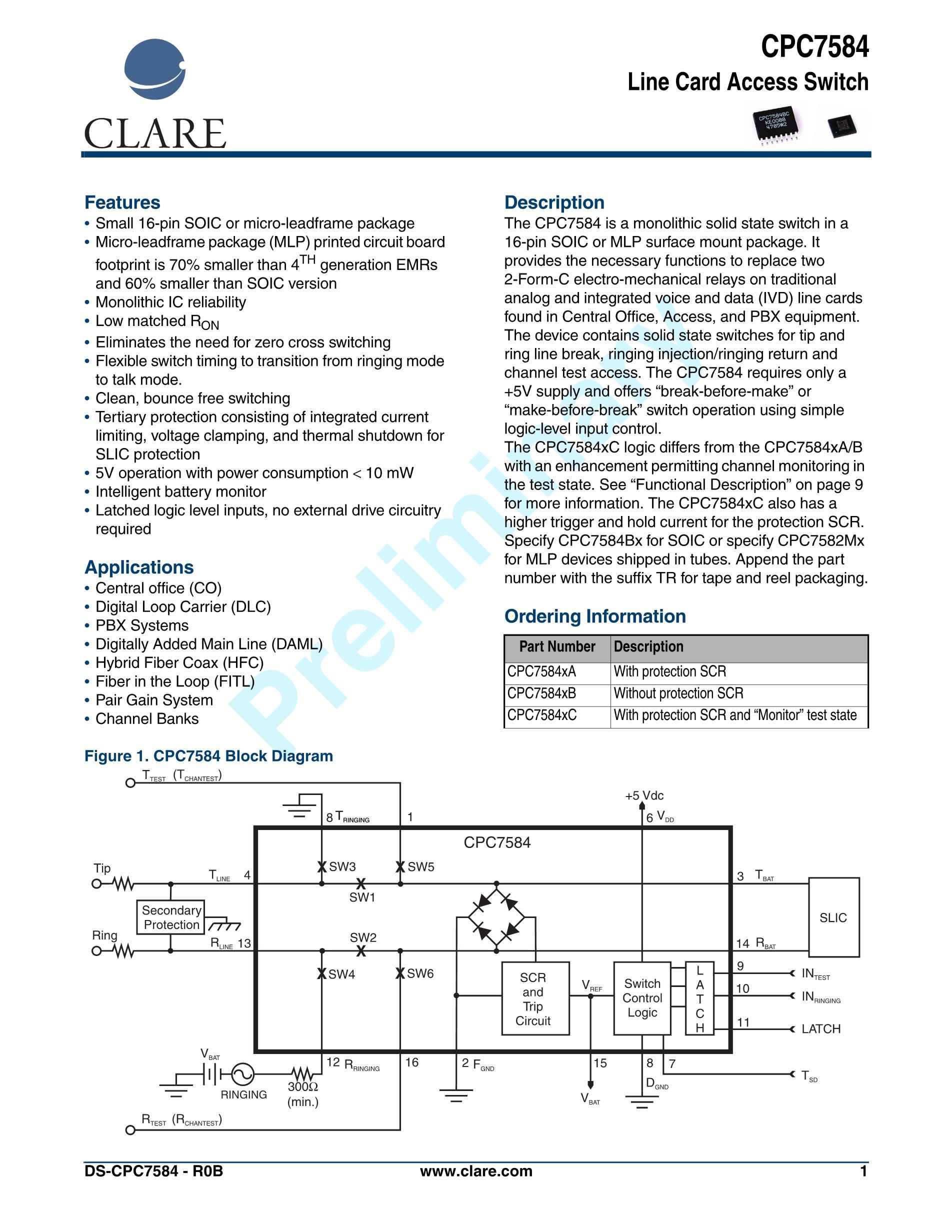 CPC7593BA's pdf picture 1
