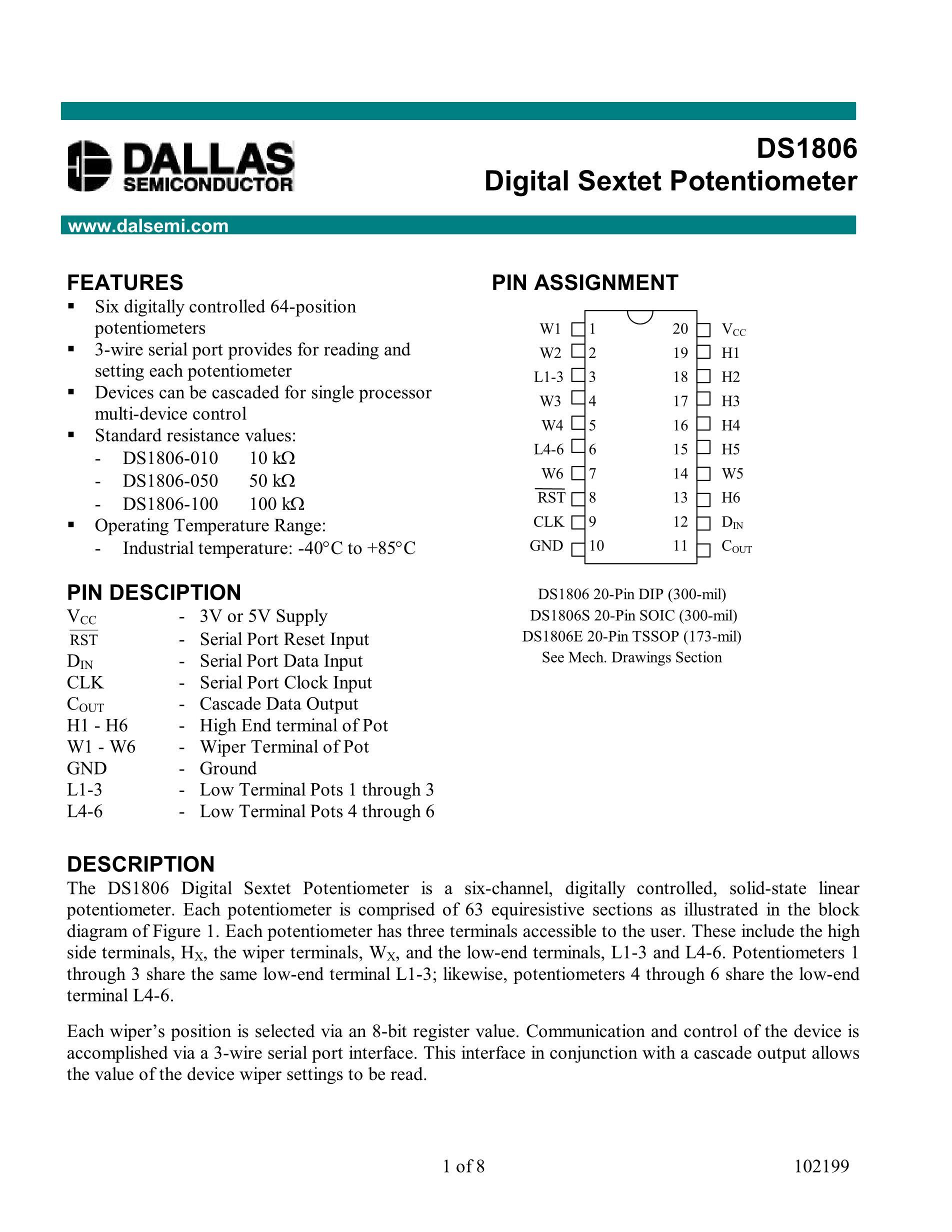 DS1806-010's pdf picture 1