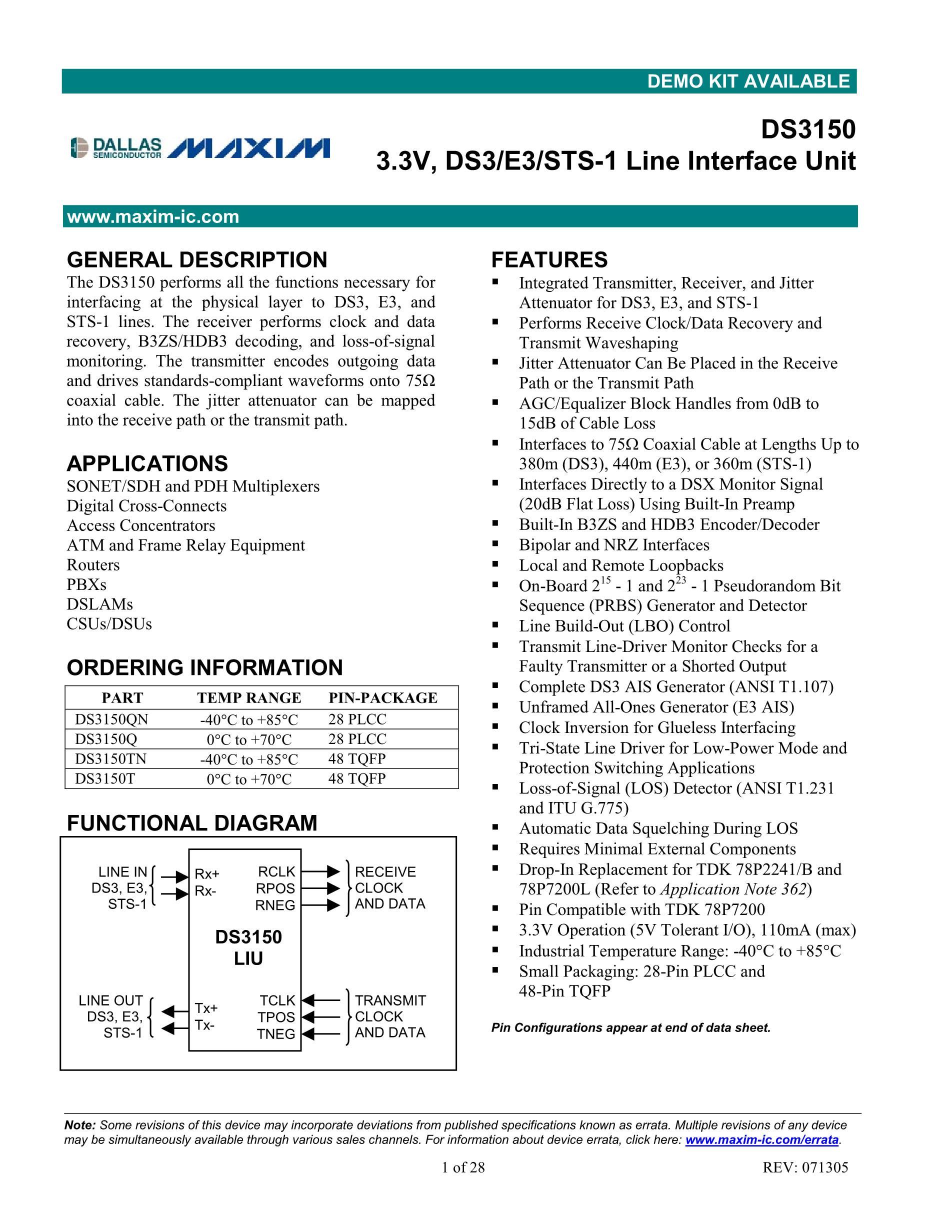 DS3150T+'s pdf picture 1