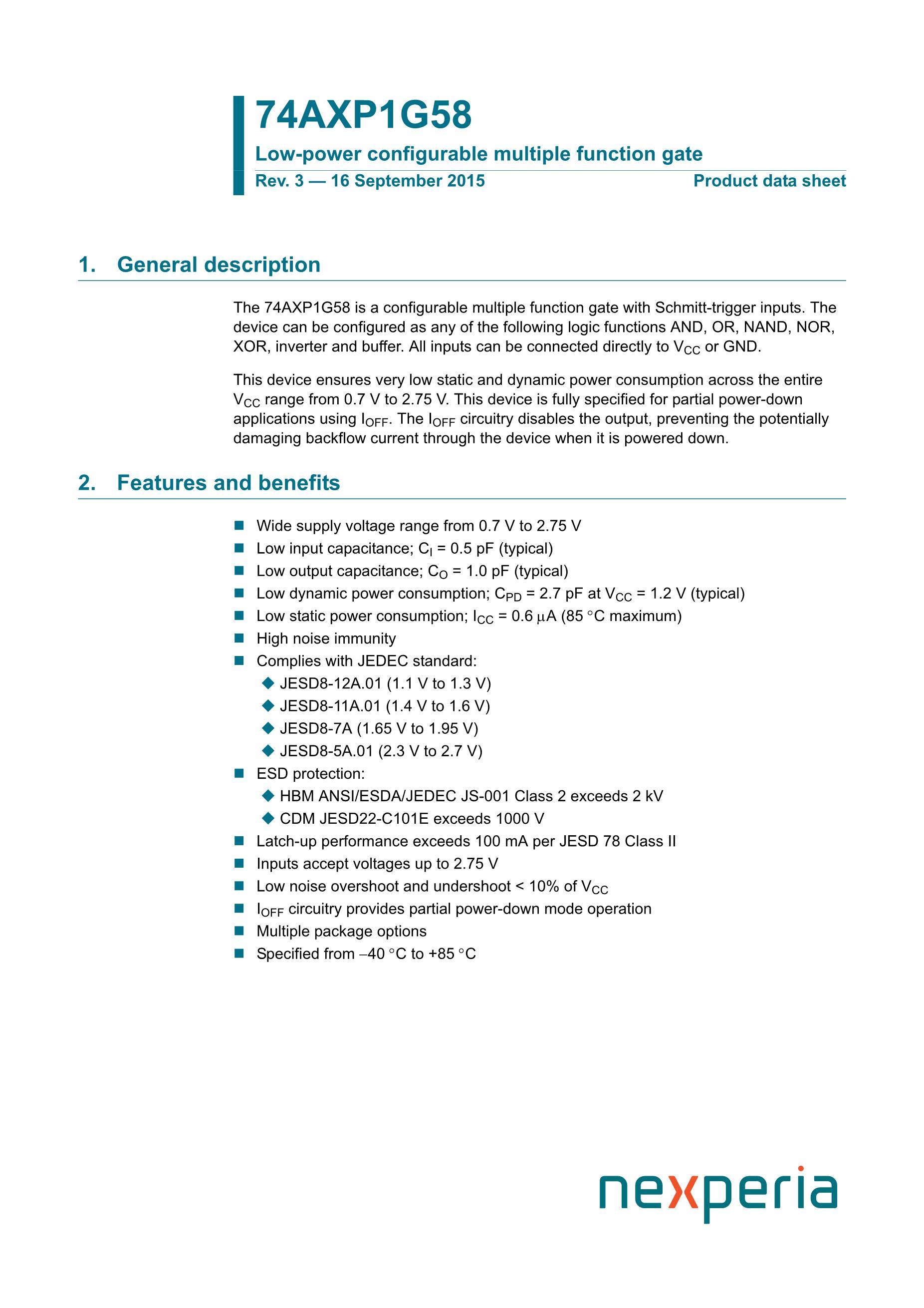 74AXP1G17GMH's pdf picture 1