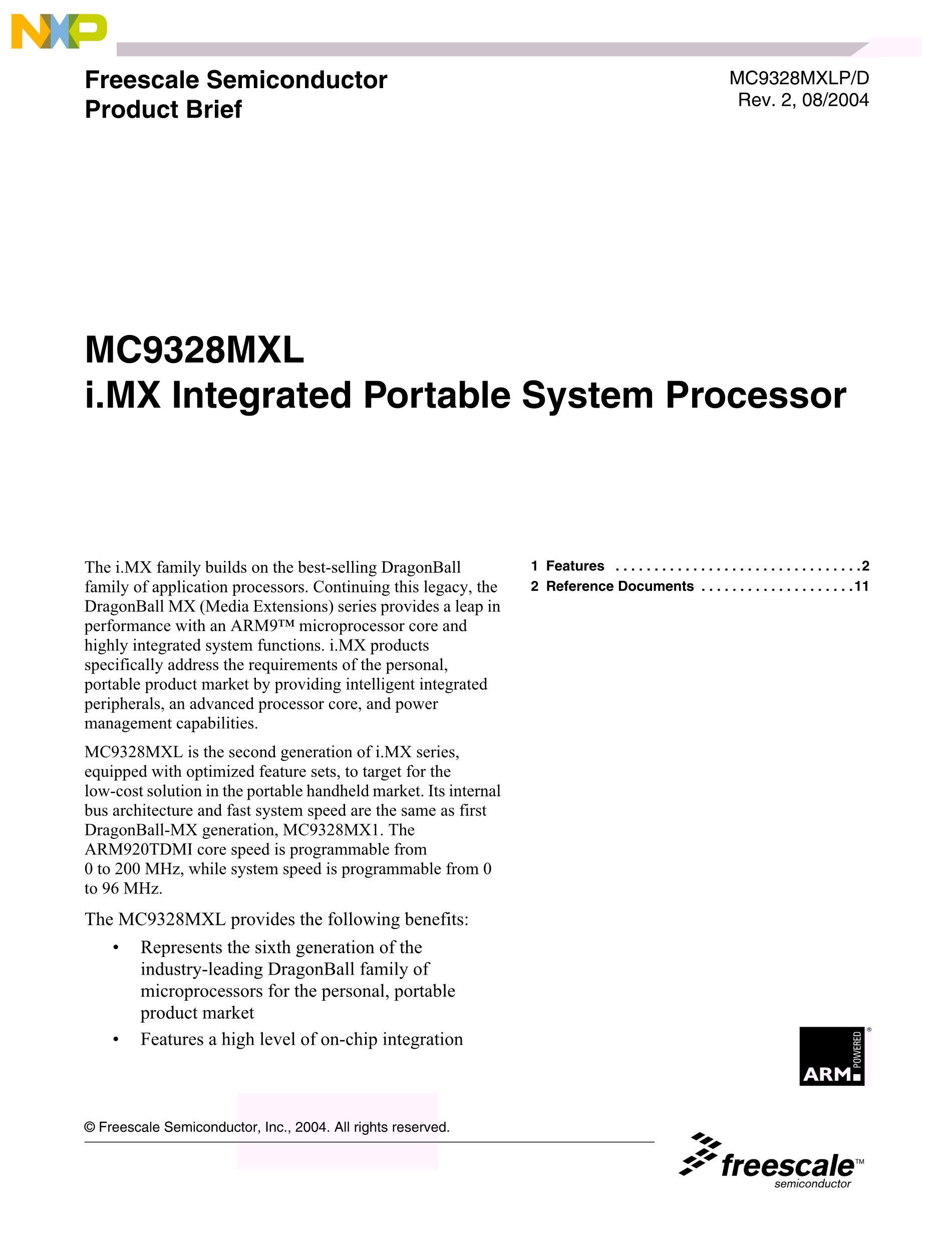 MC9328MX1DVM20's pdf picture 1