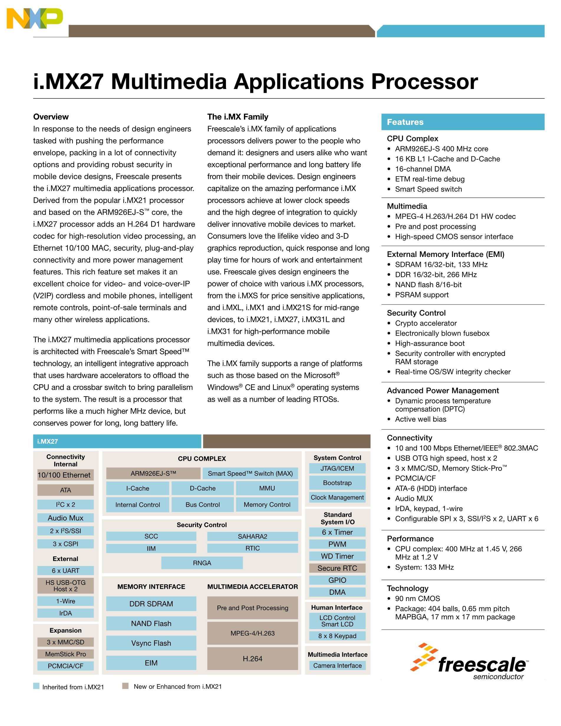 MCIMX27MOP4A's pdf picture 1