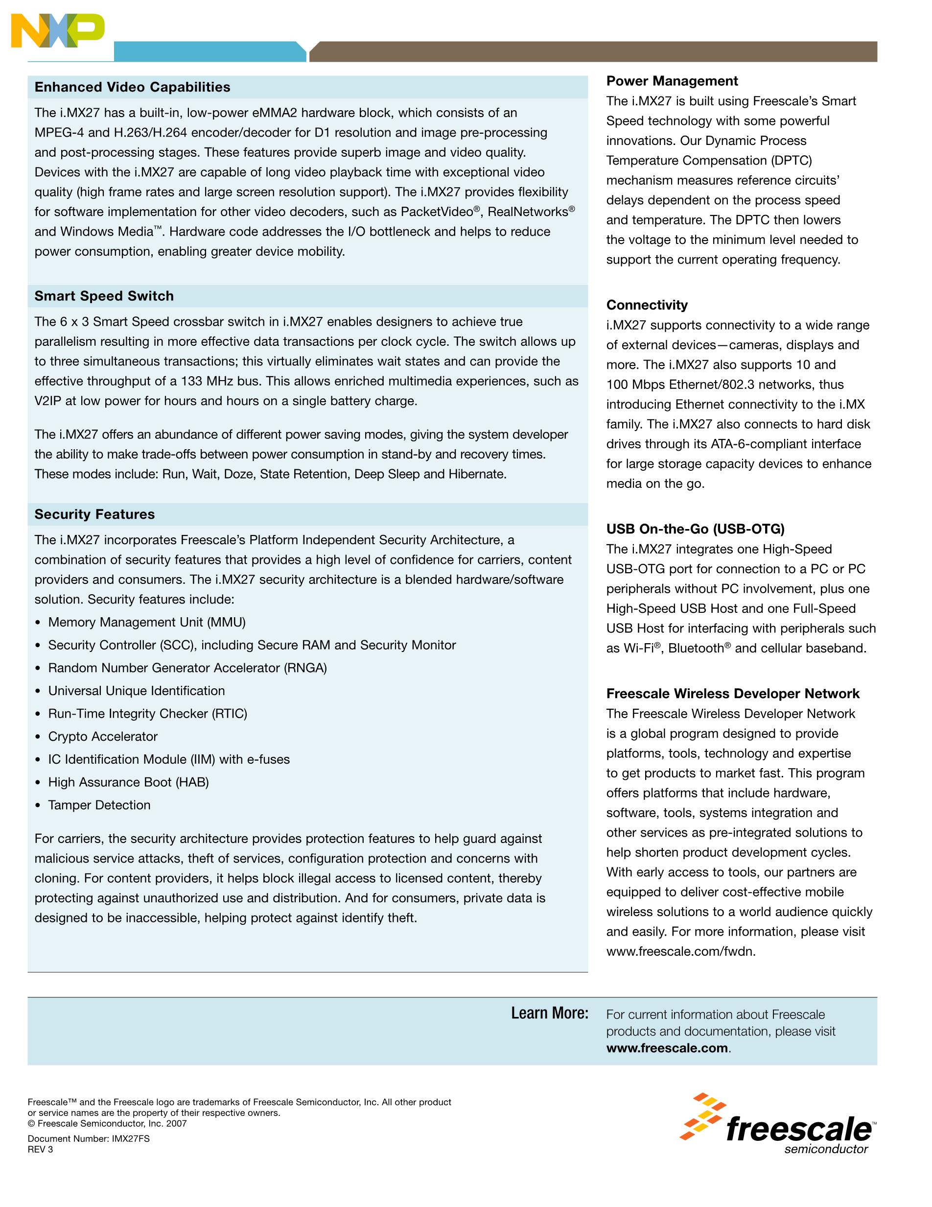 MCIMX27MOP4A's pdf picture 2