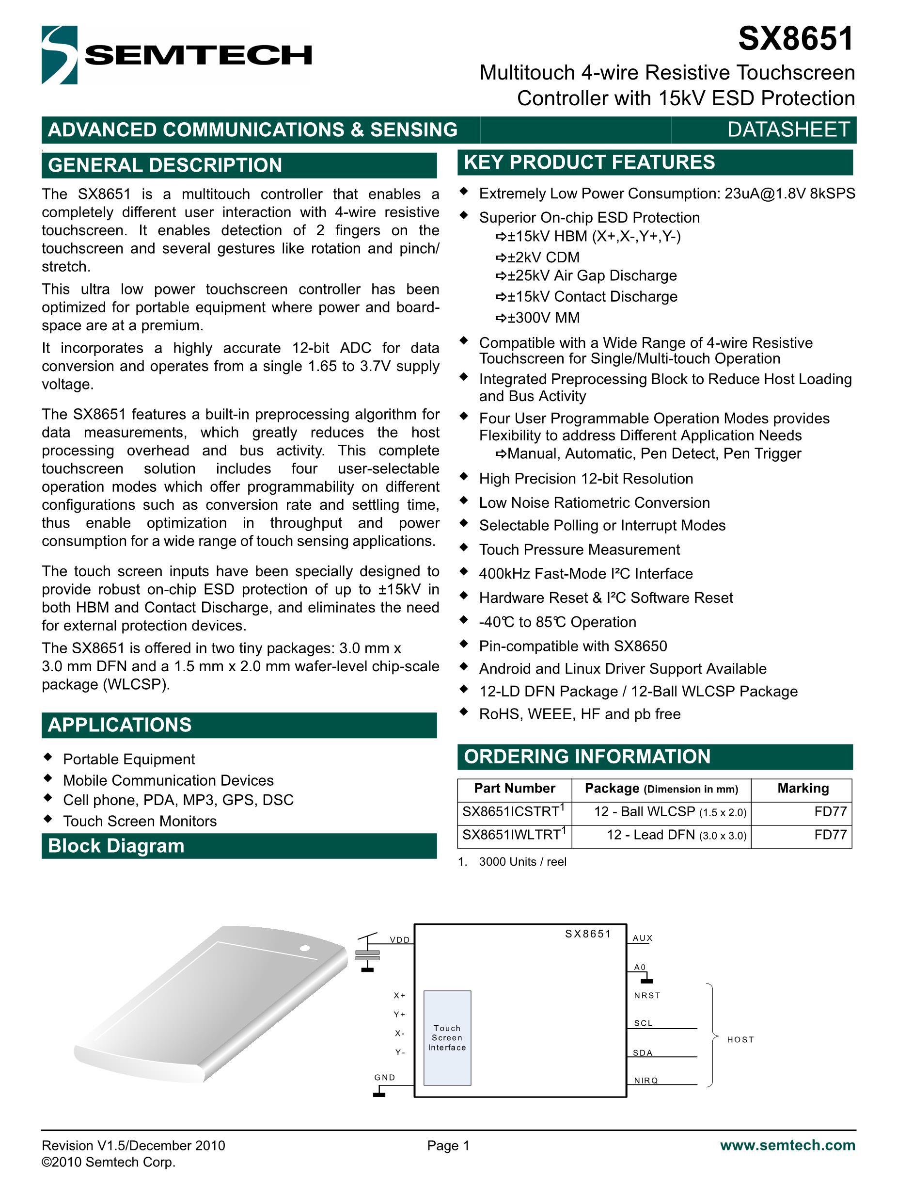 SX8633I05AWLTRT's pdf picture 1