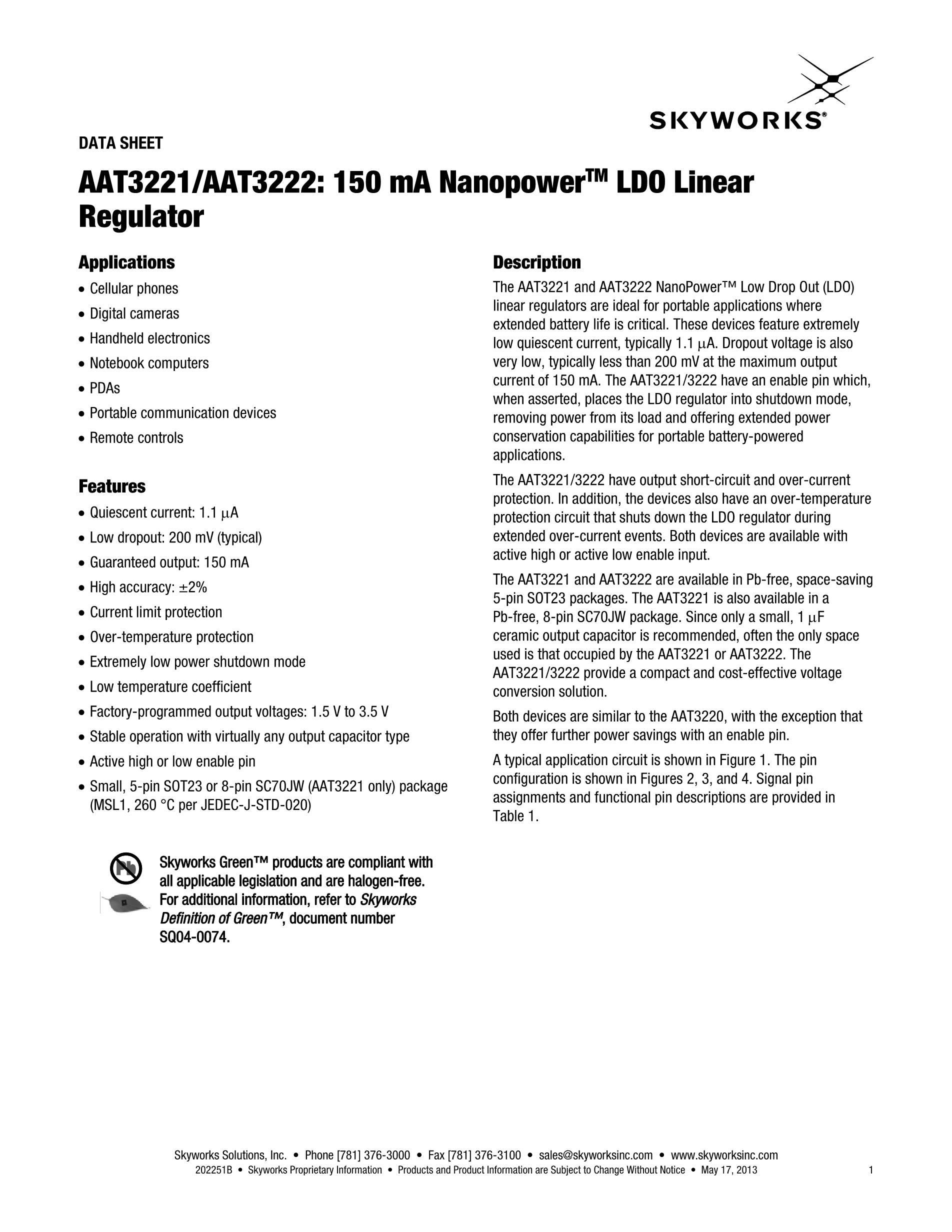 AAT3176AIDH-T1's pdf picture 1