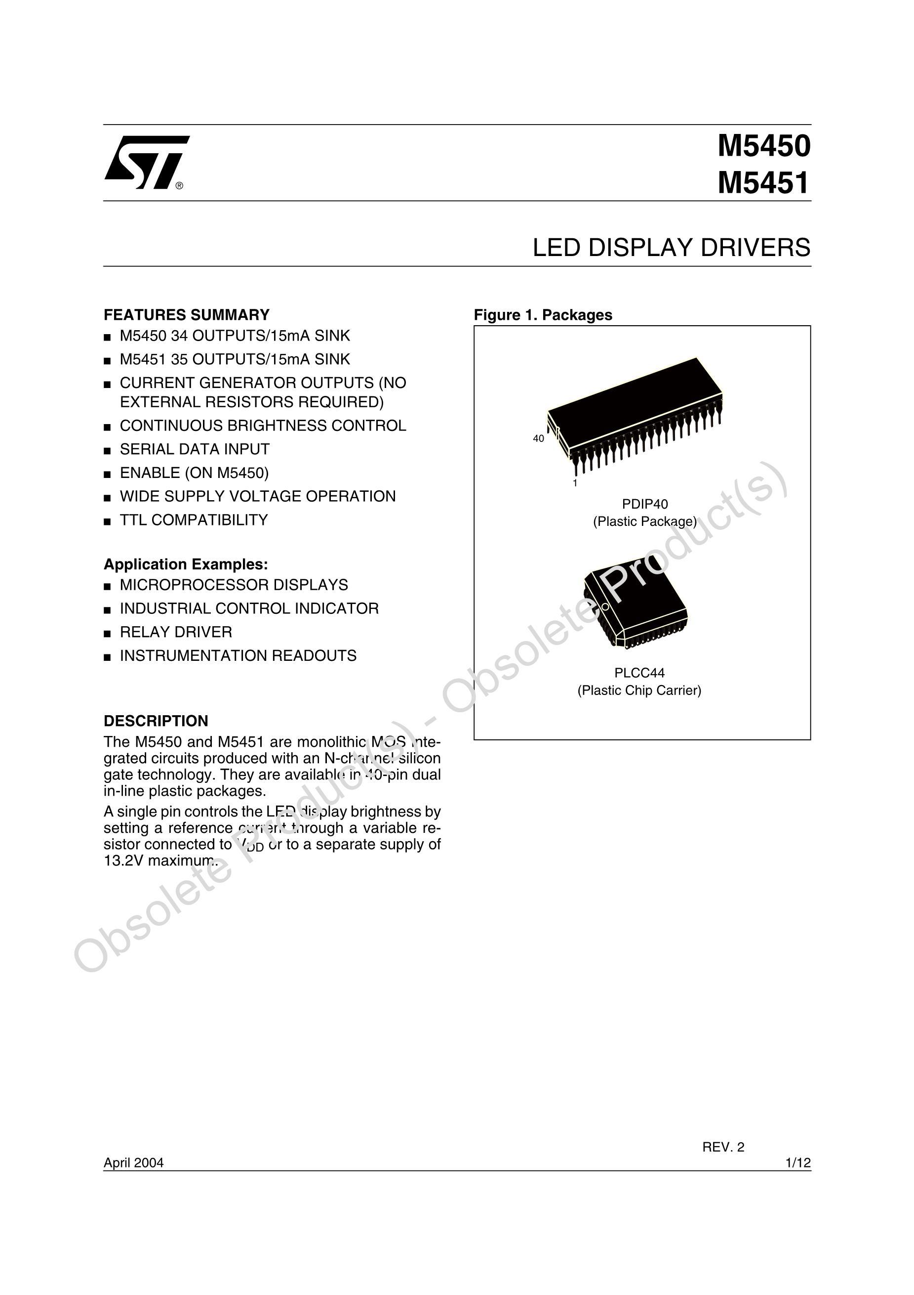 M5450B7's pdf picture 1