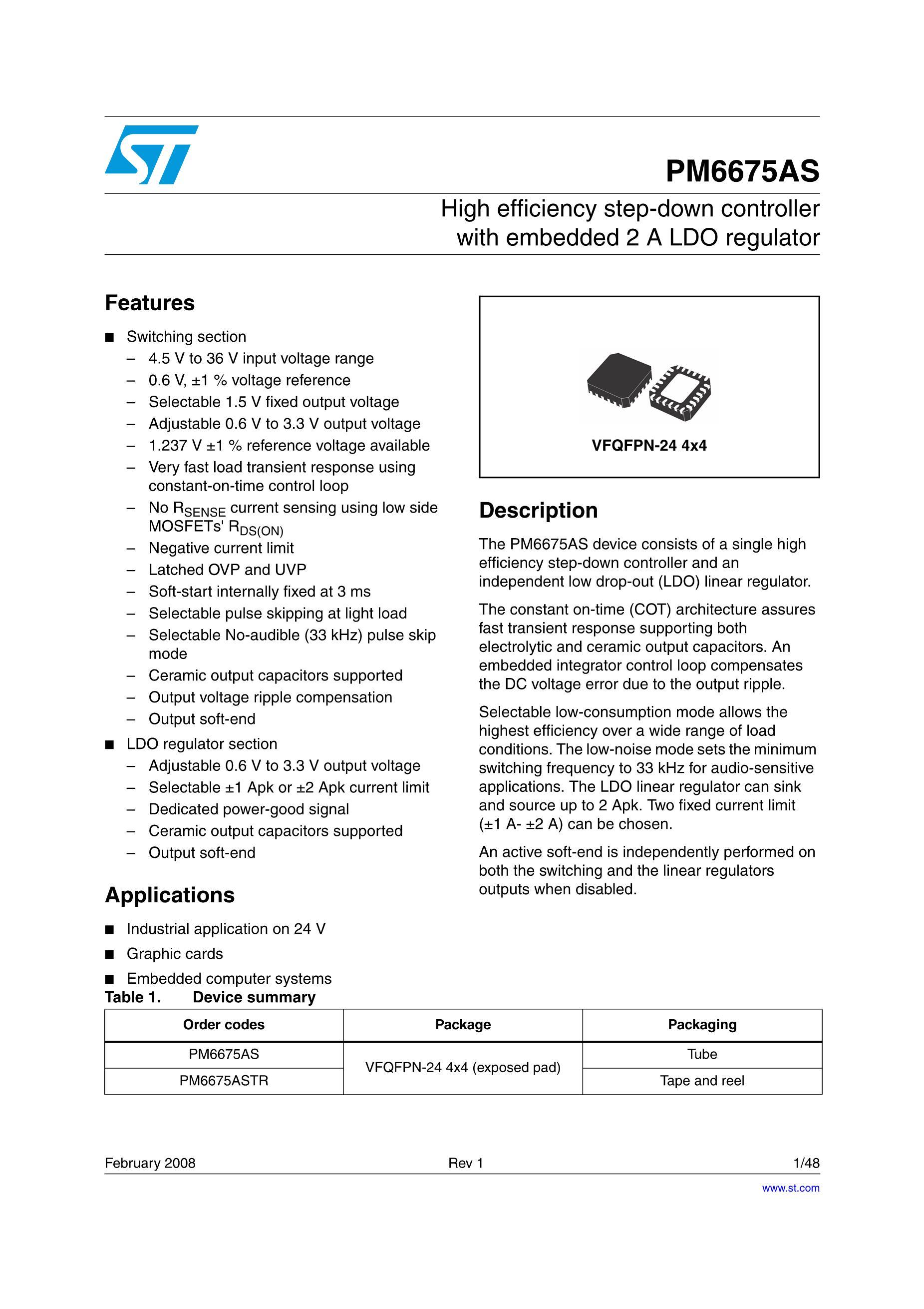PM6670STR's pdf picture 1
