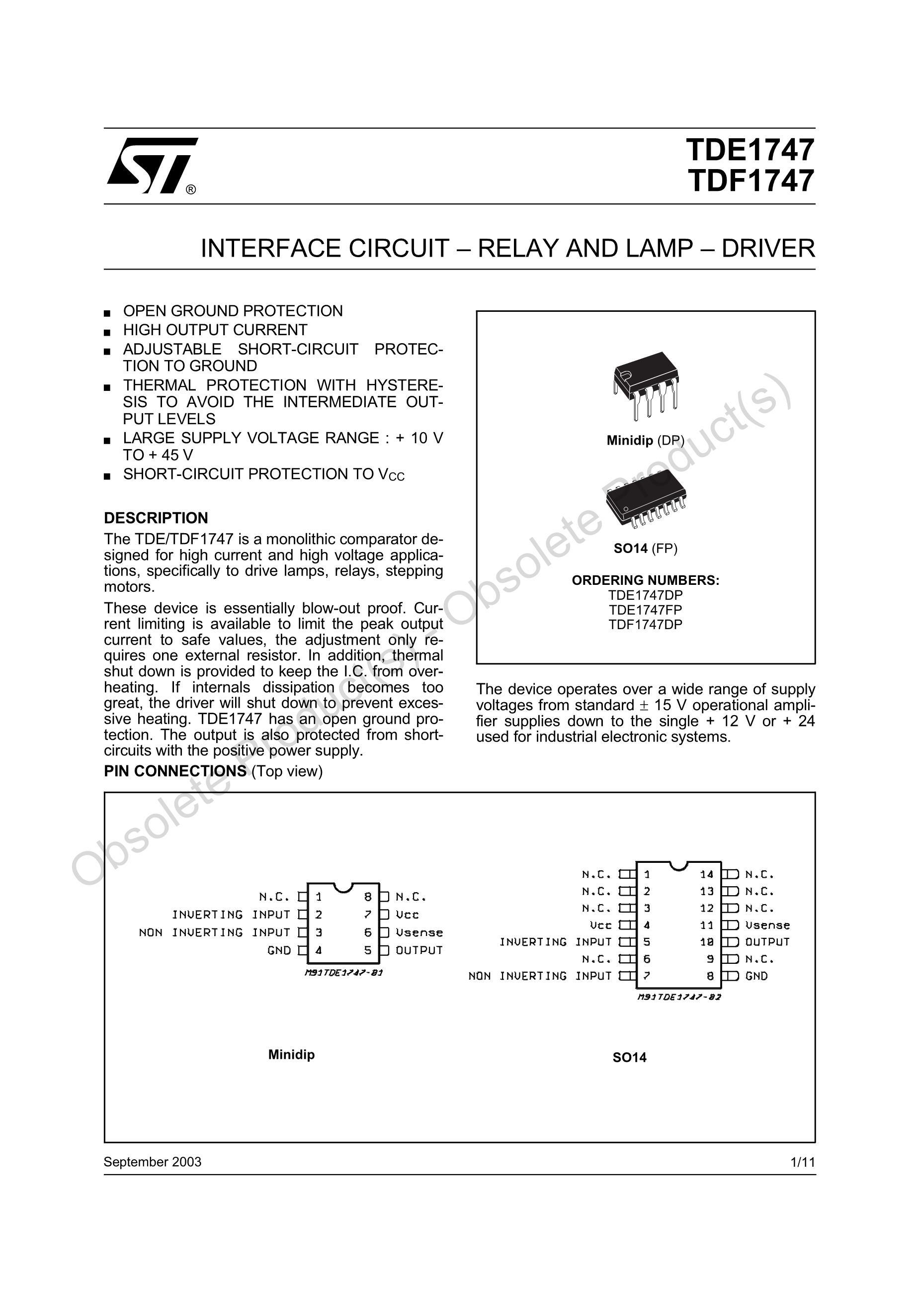 TDE1898RDP's pdf picture 1