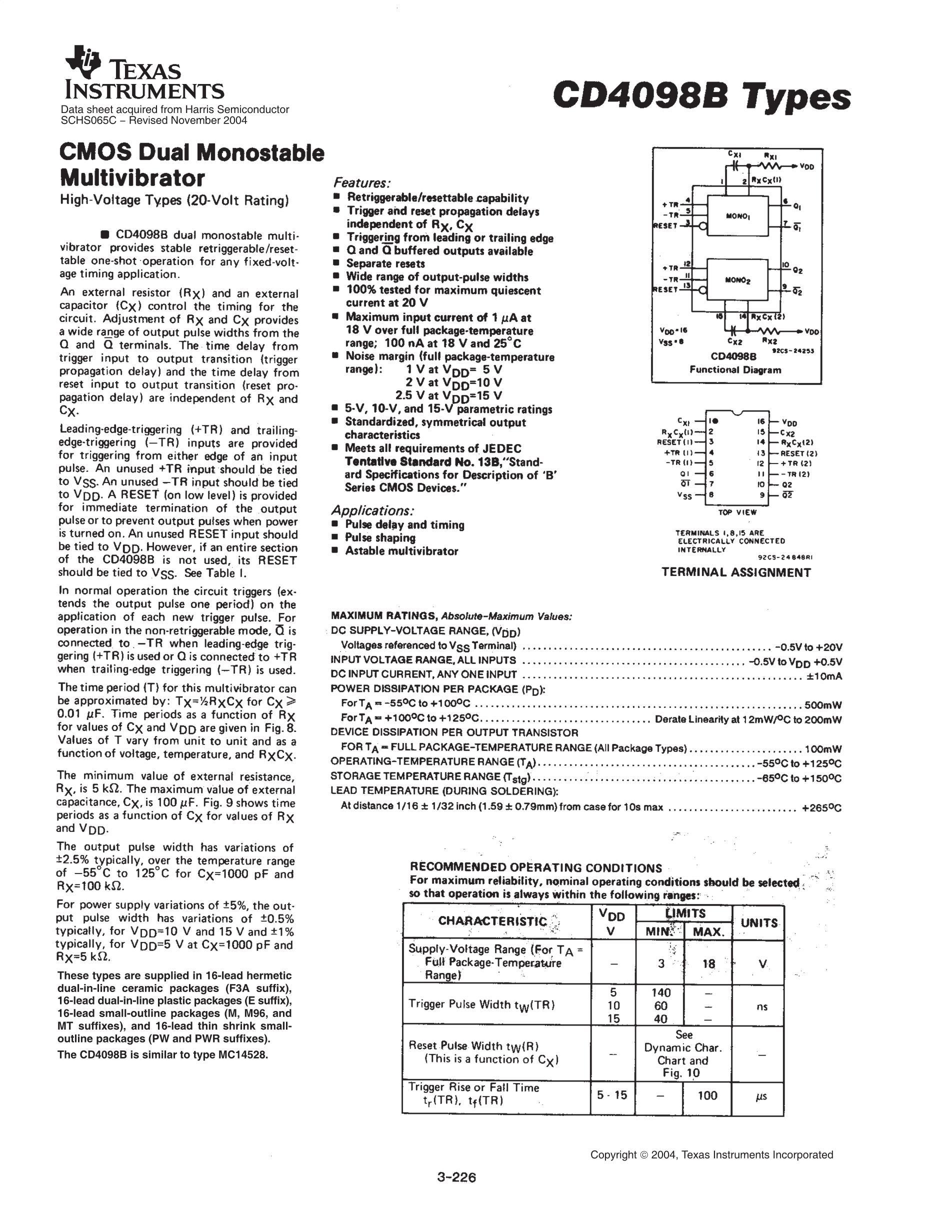 CD4098BM's pdf picture 1