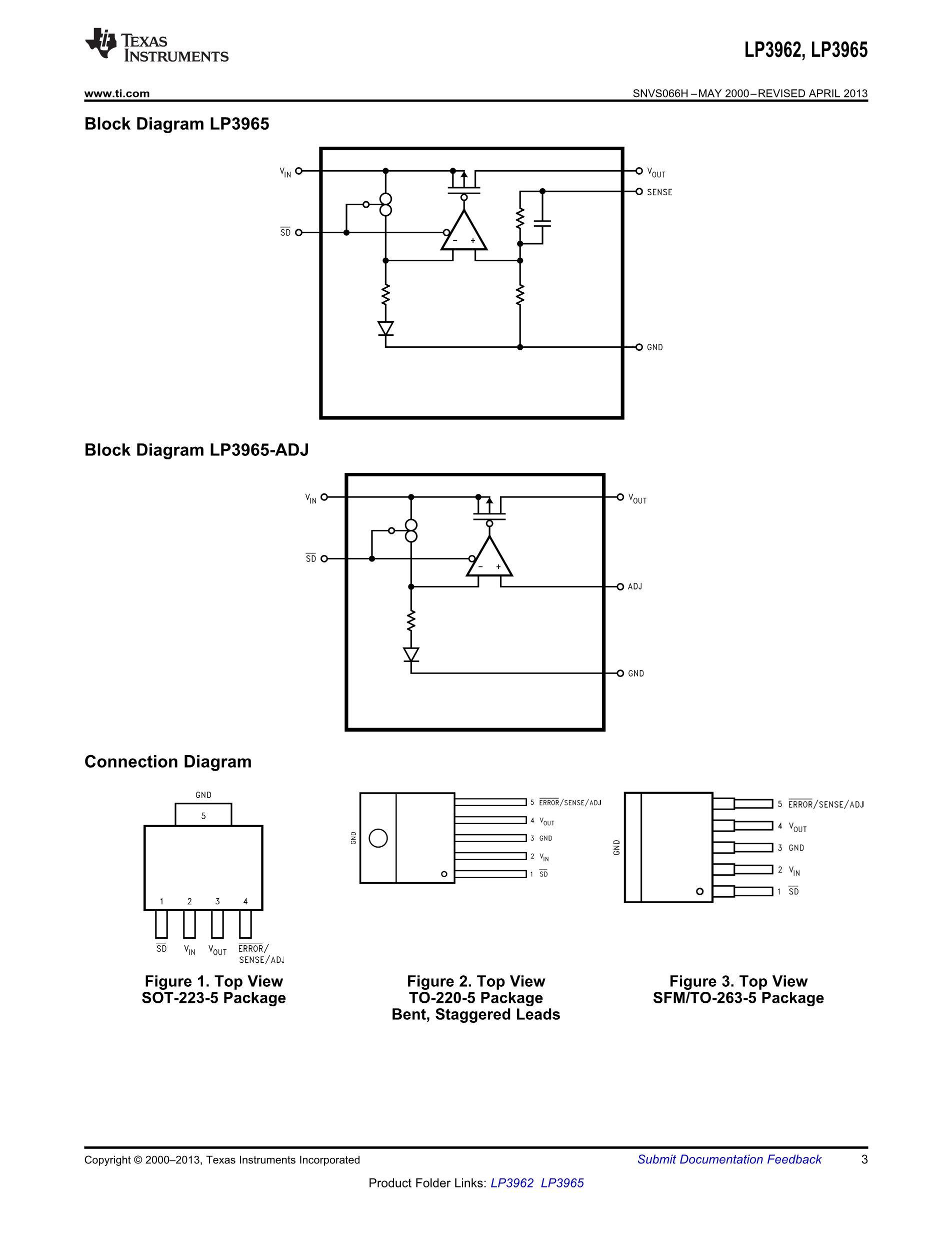 LP3905SD-A3/NOPB's pdf picture 3