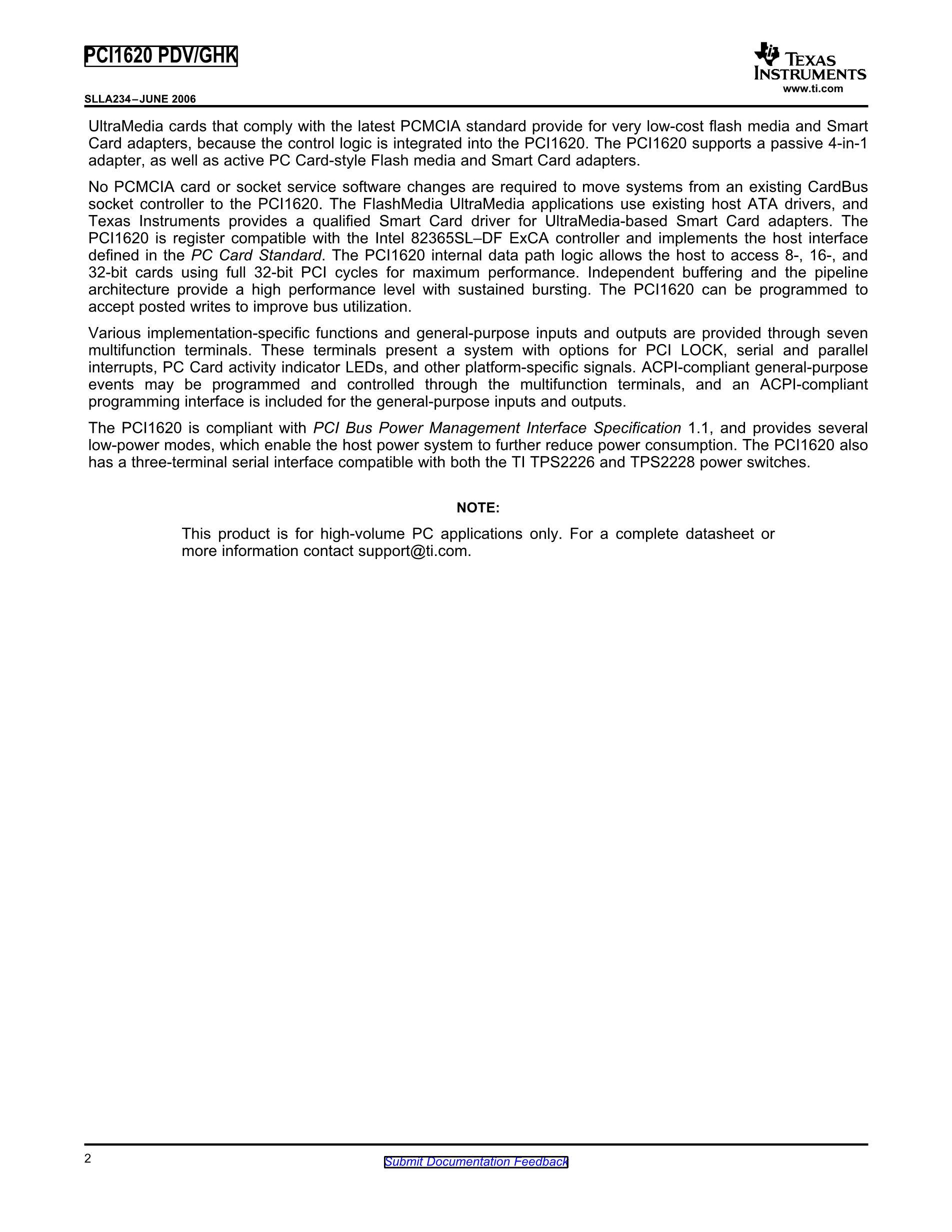 PCI1520IZHK's pdf picture 2