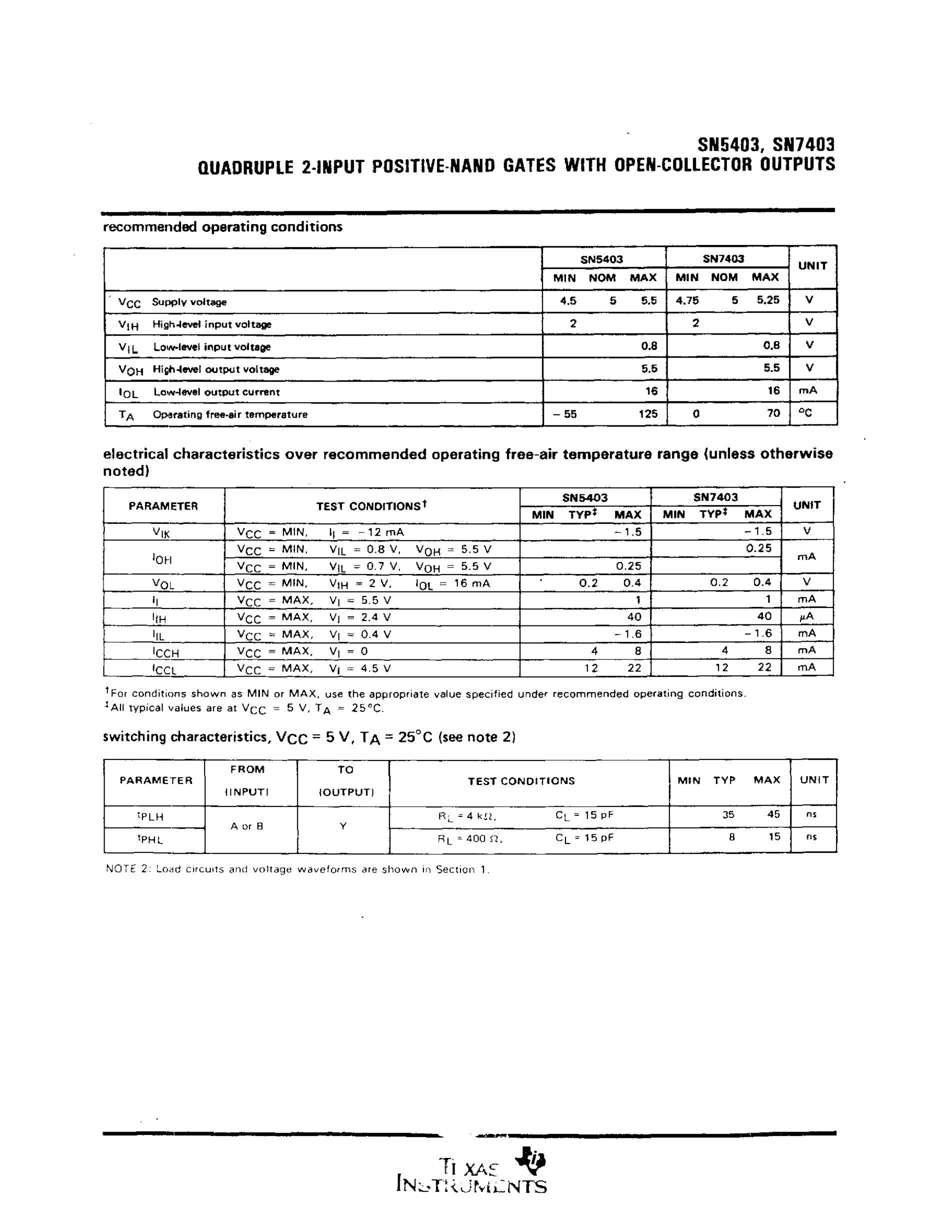 SN74LS03's pdf picture 3