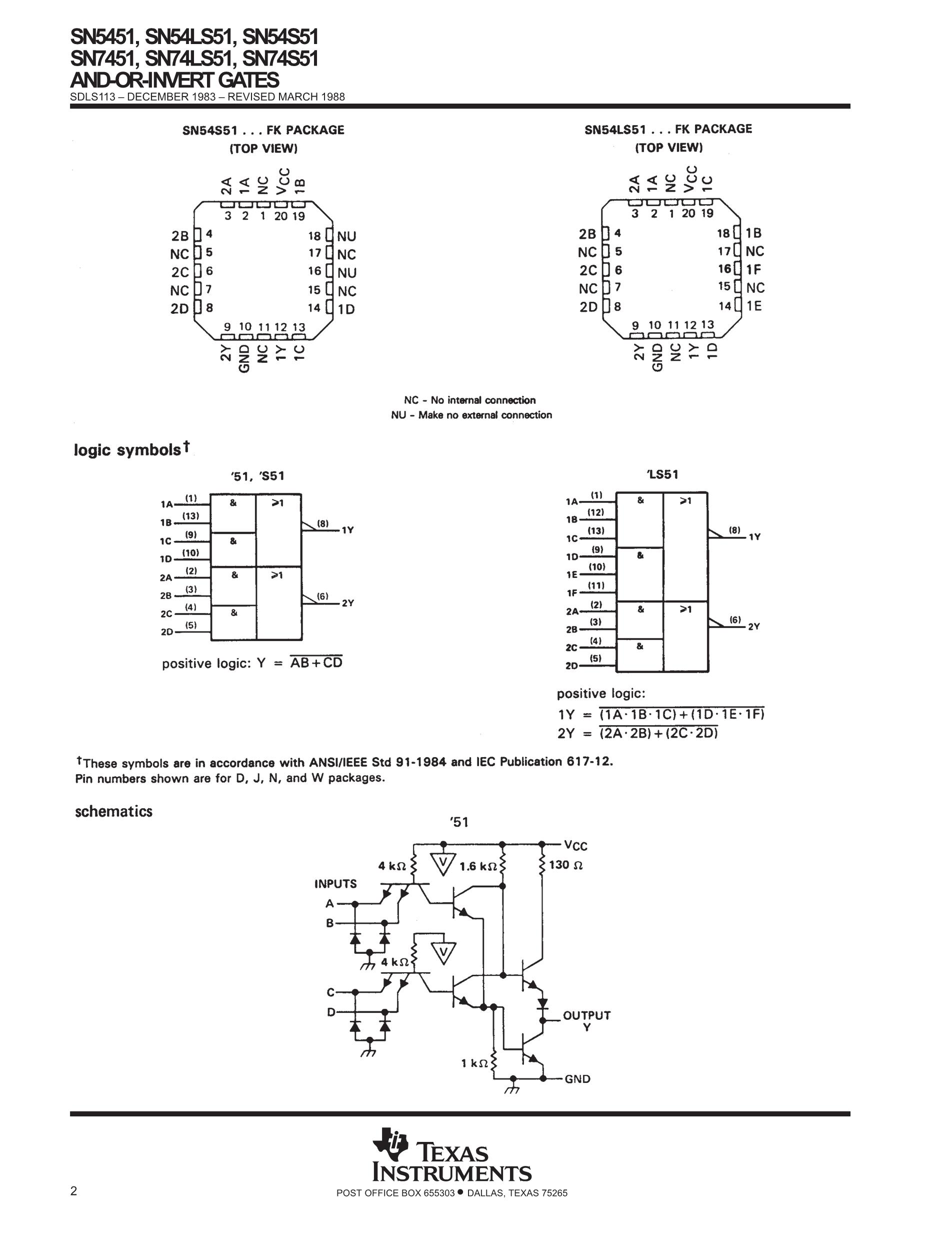 SN74S51DR's pdf picture 2