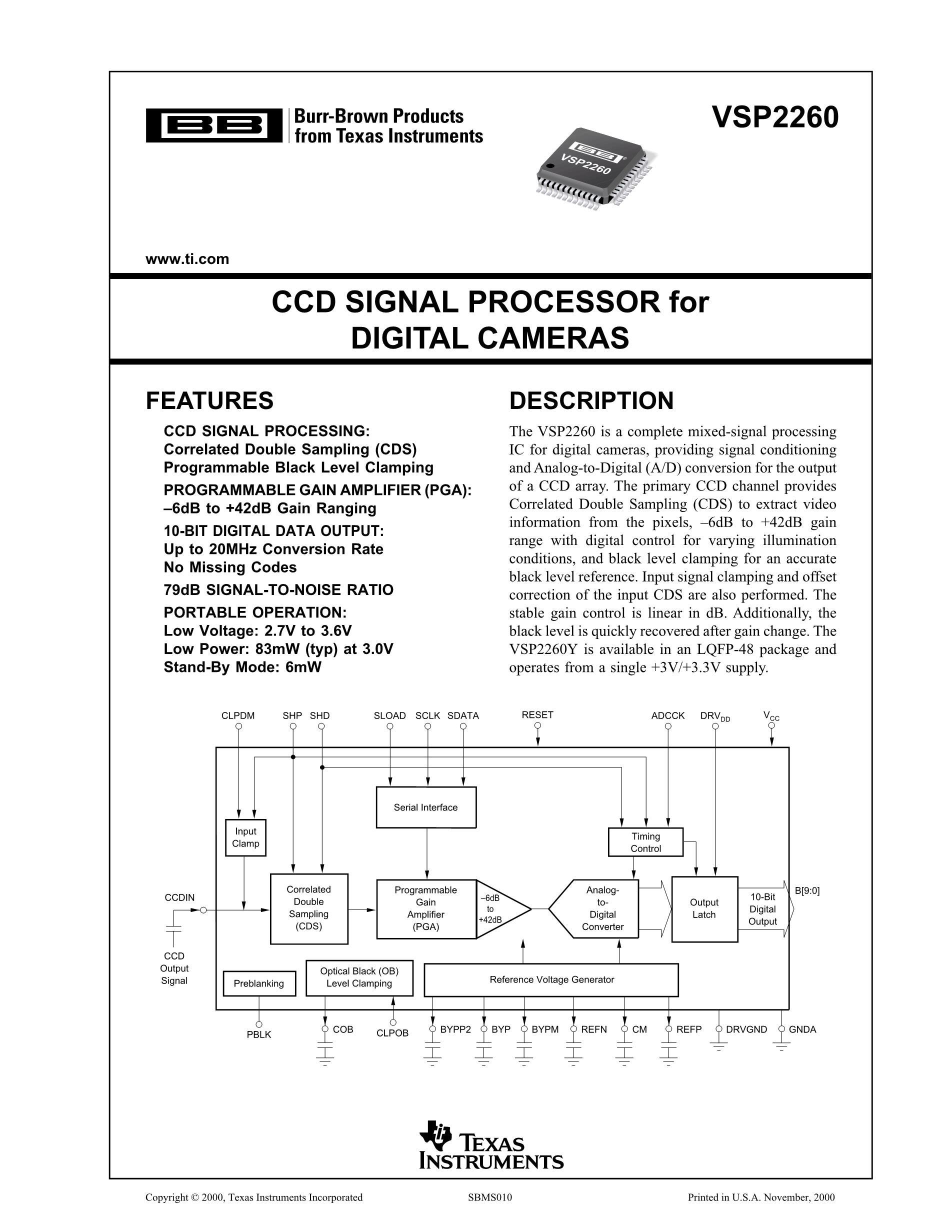VSP2560PTRG4's pdf picture 1
