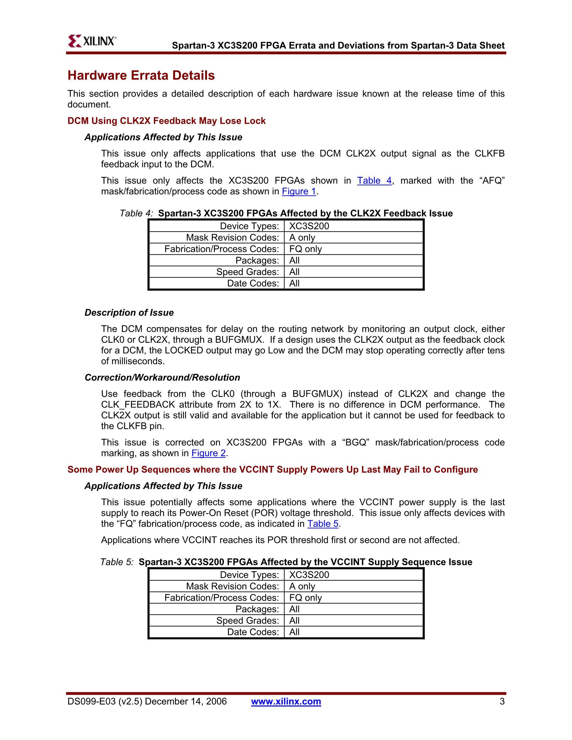 XC3S200-4TQG144C's pdf picture 3