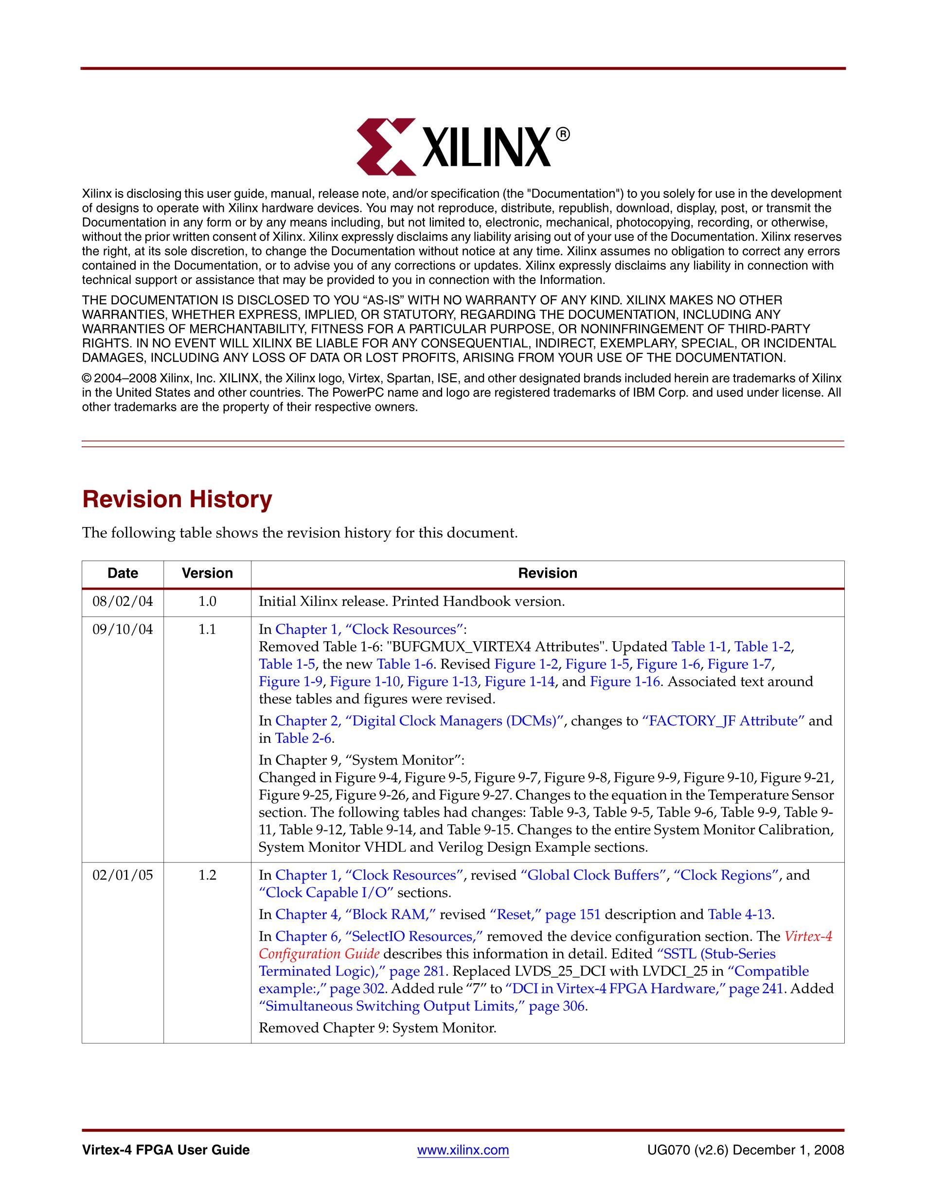 XC4VLX25-11FFG676C's pdf picture 2