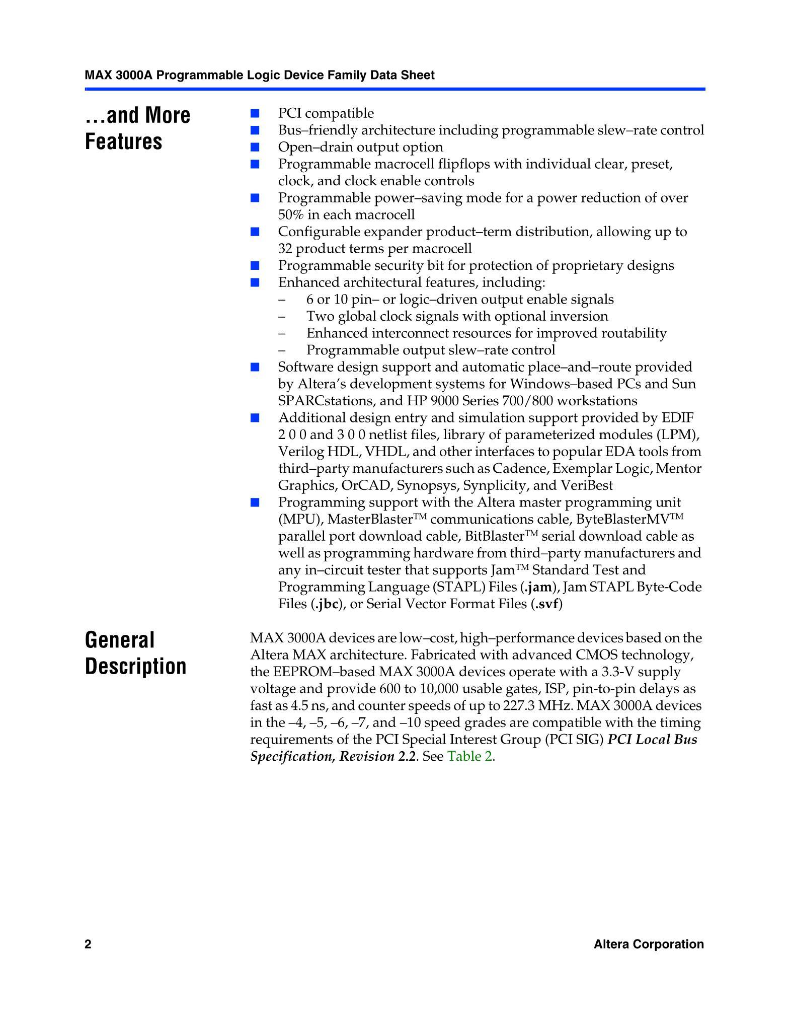 EPM3256AQC208-7N's pdf picture 2