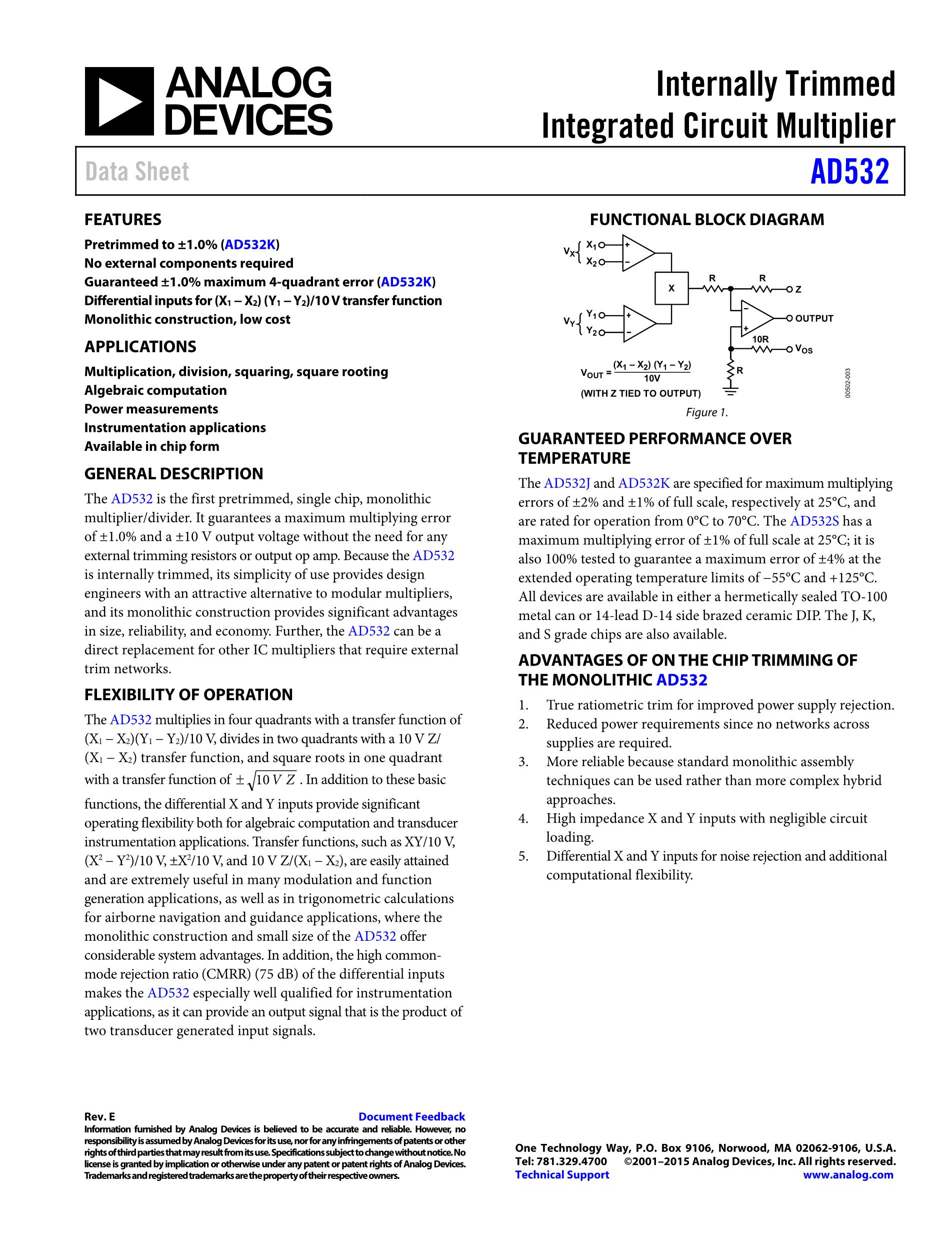 AD532JDZ's pdf picture 1