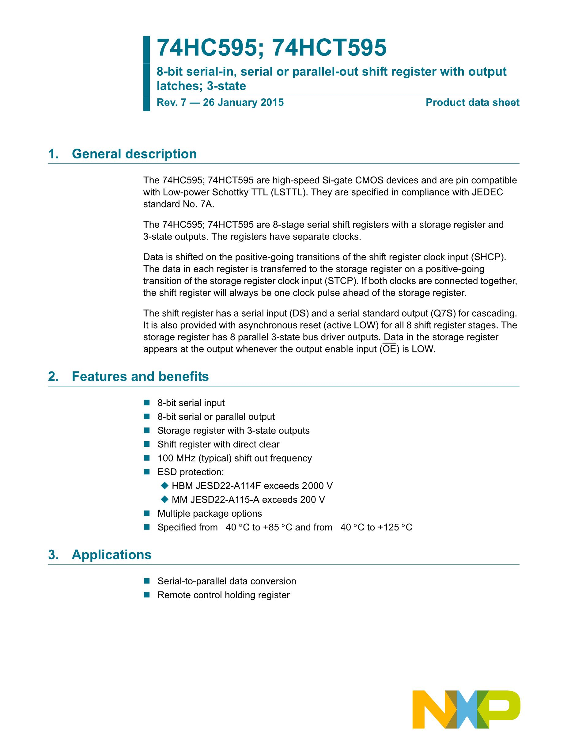 74HC595's pdf picture 1