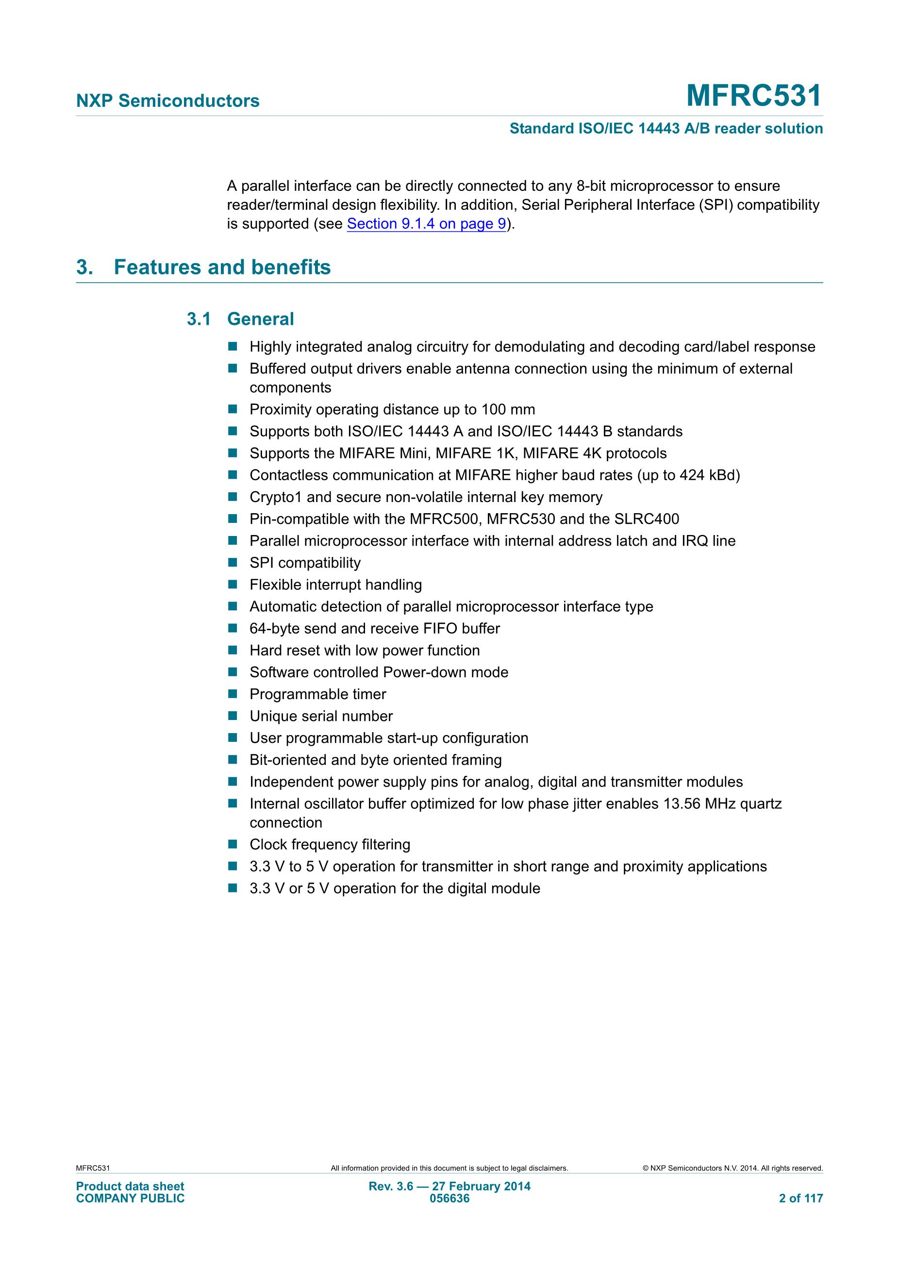 MFRC-522 RC522 RFID RF IC card induction module sent S50 Fudan card, key link's pdf picture 2