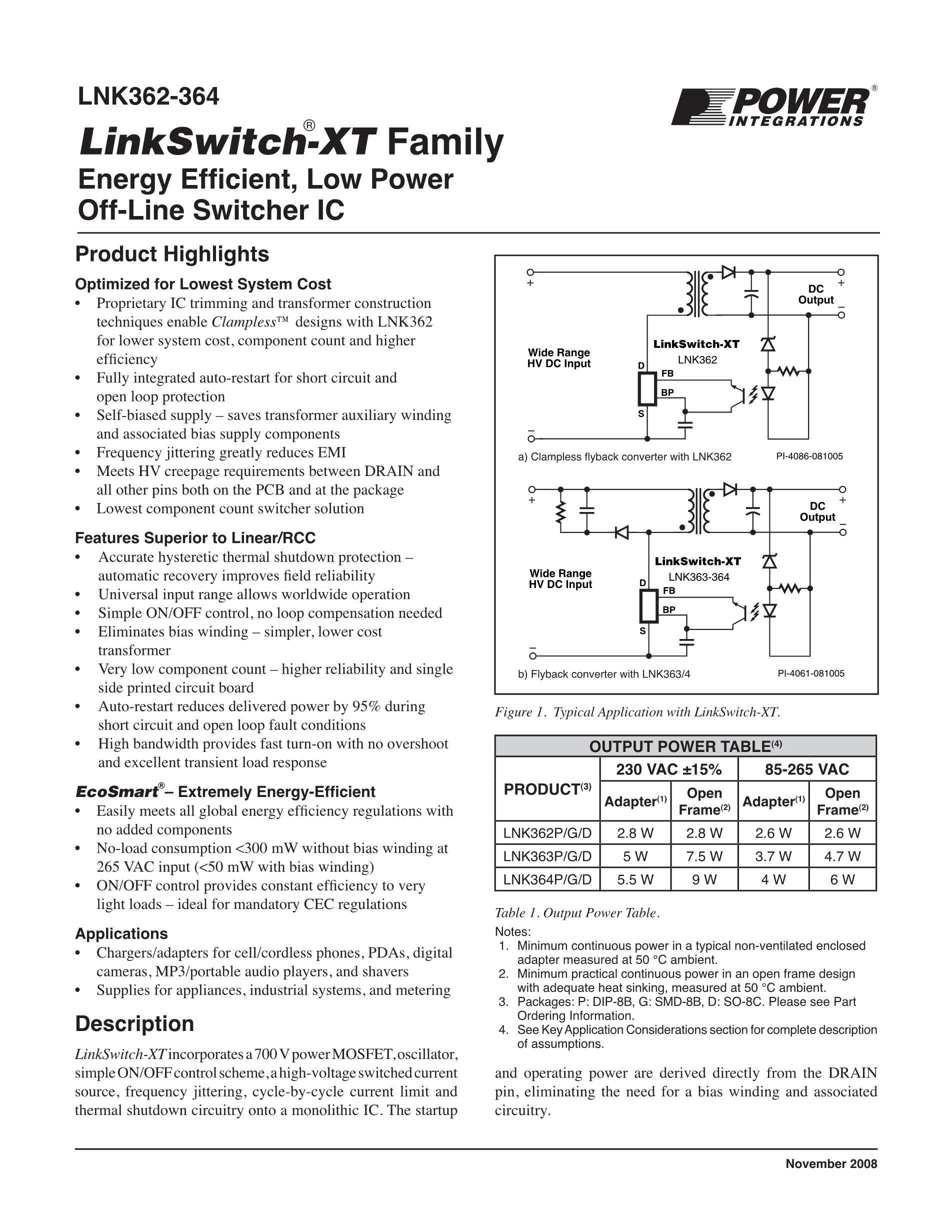 LNK364PN's pdf picture 1