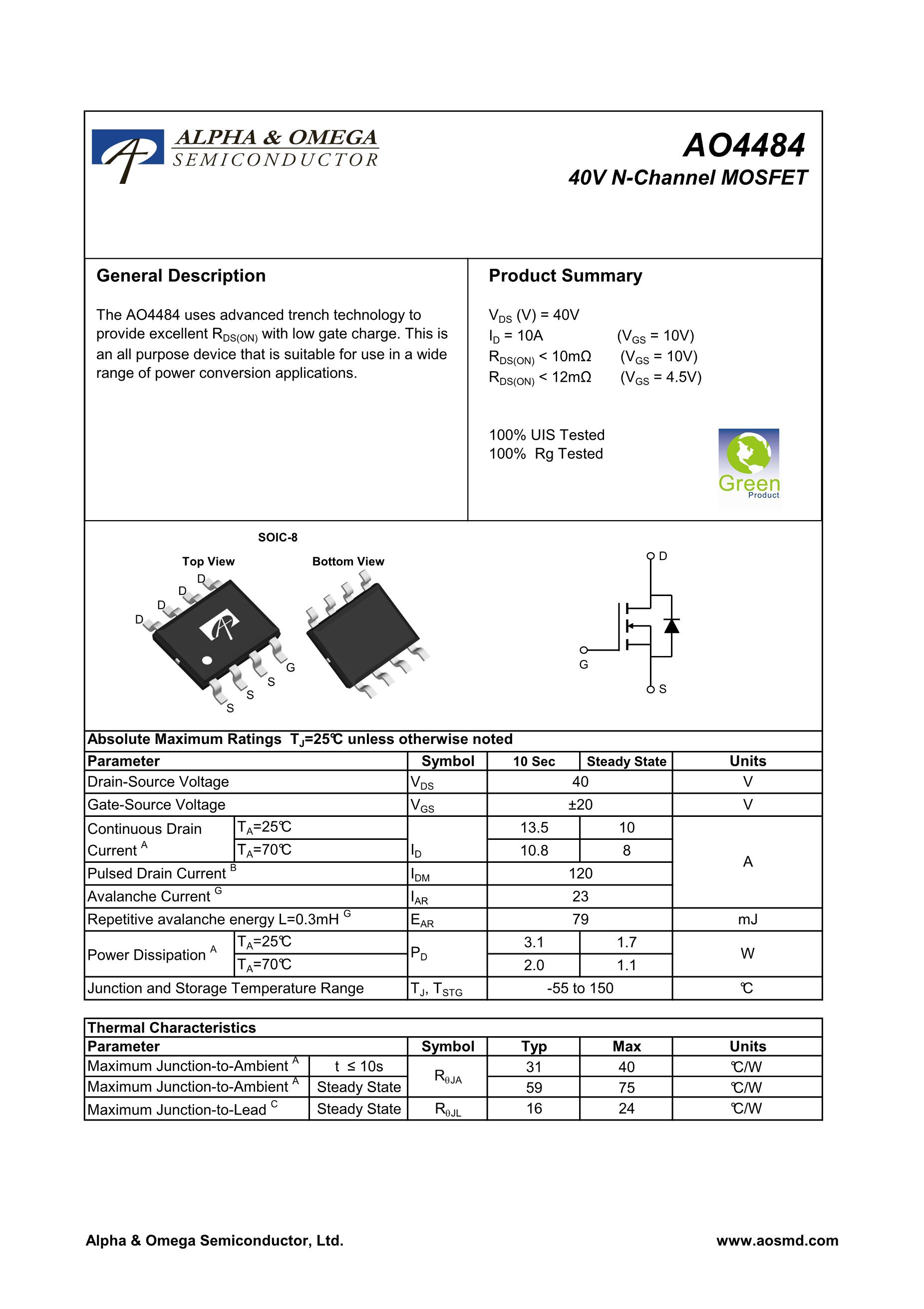 AO4478L's pdf picture 1