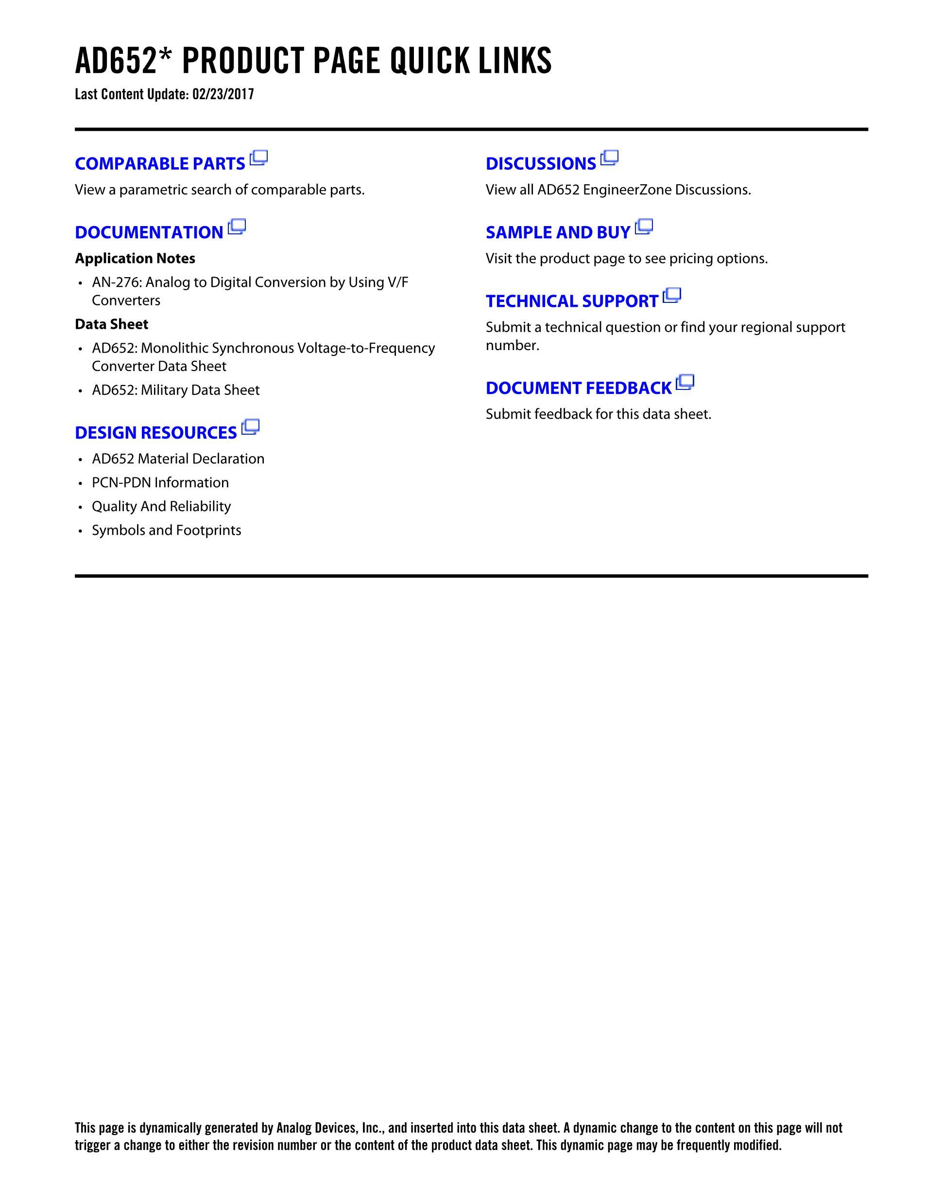 AD652AQ's pdf picture 2