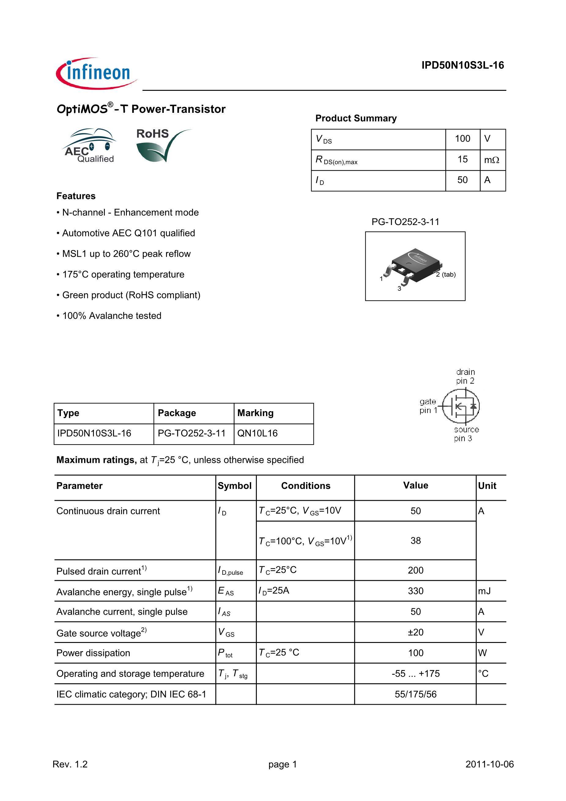 IPD50P04P4-13's pdf picture 1