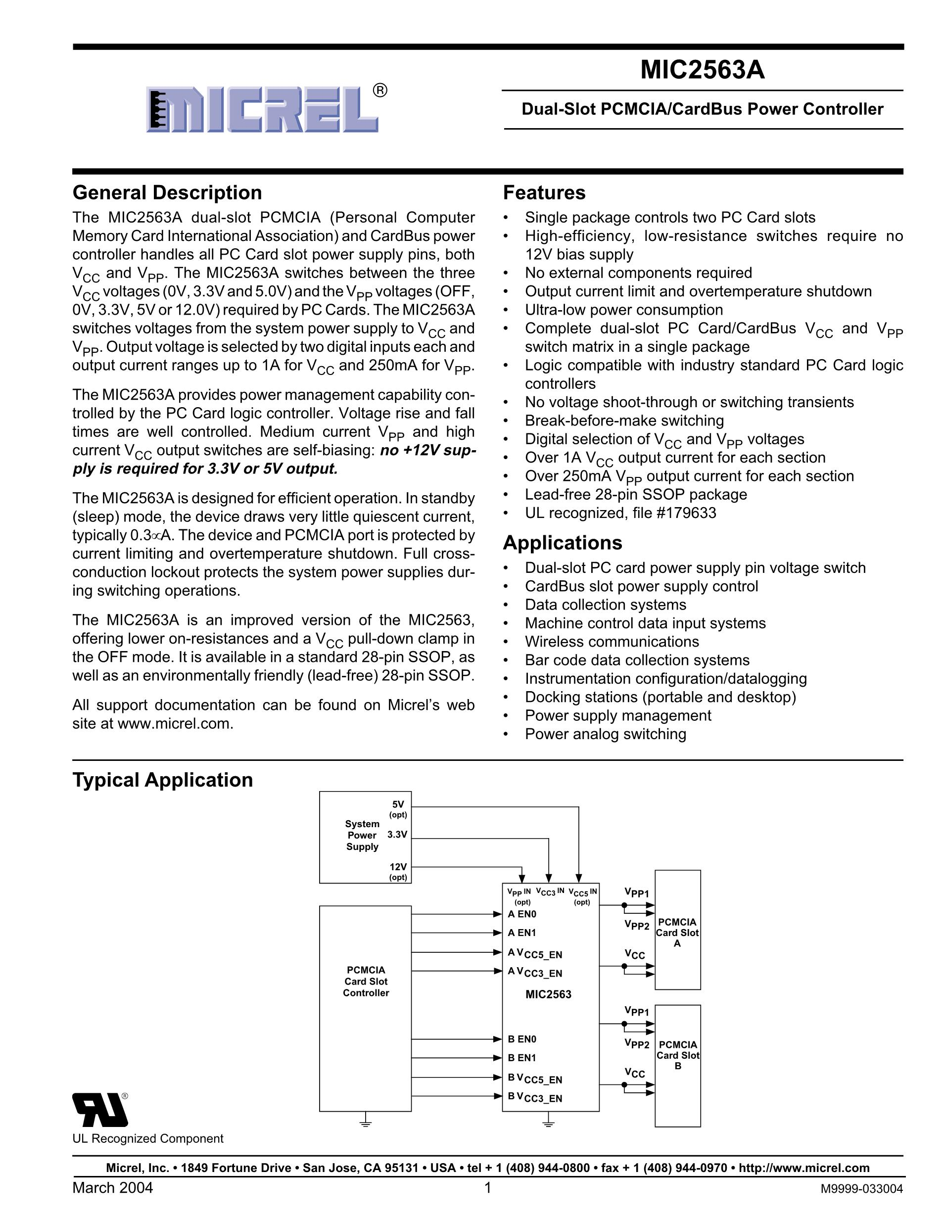 MIC2564A-1YTS's pdf picture 1