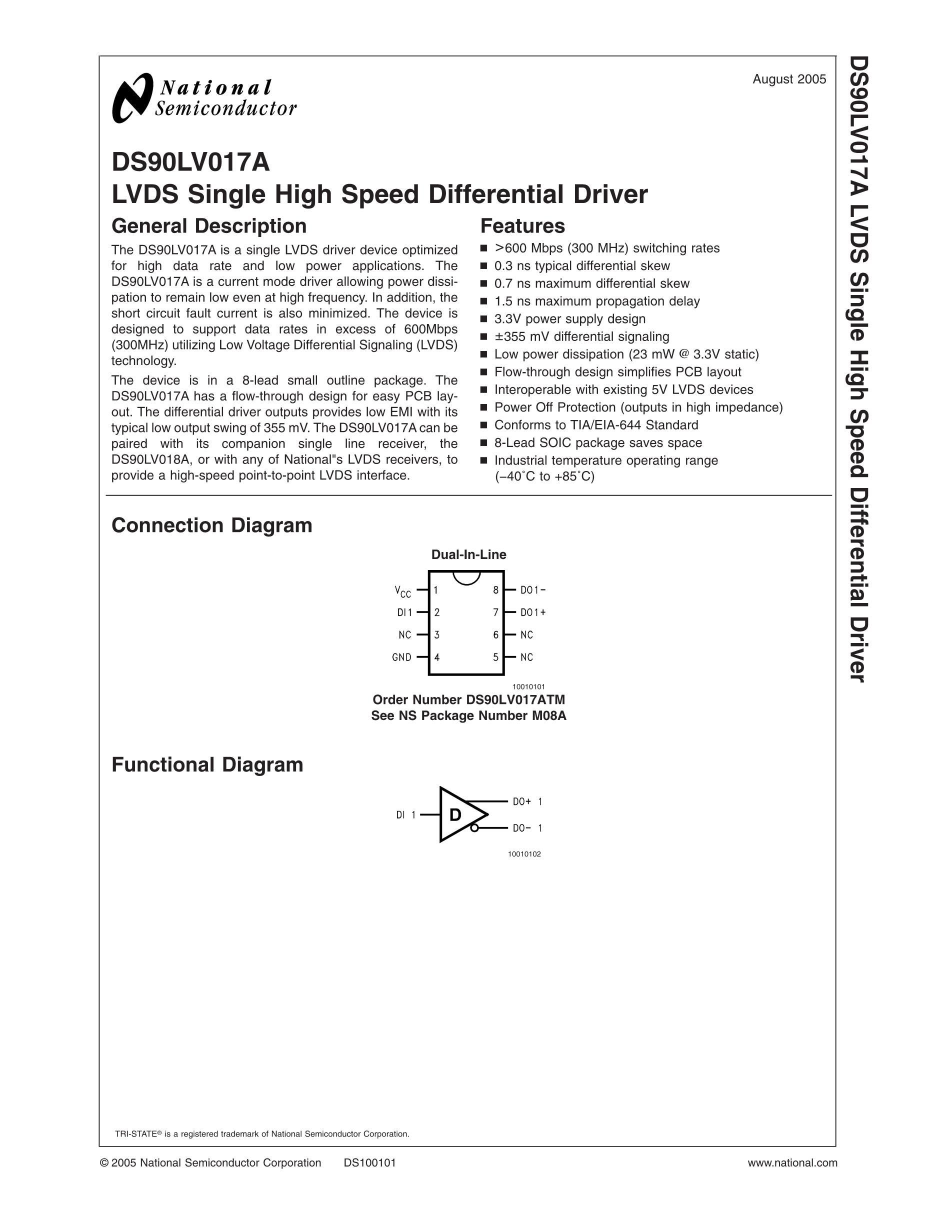 DS90LV017ATMX's pdf picture 2