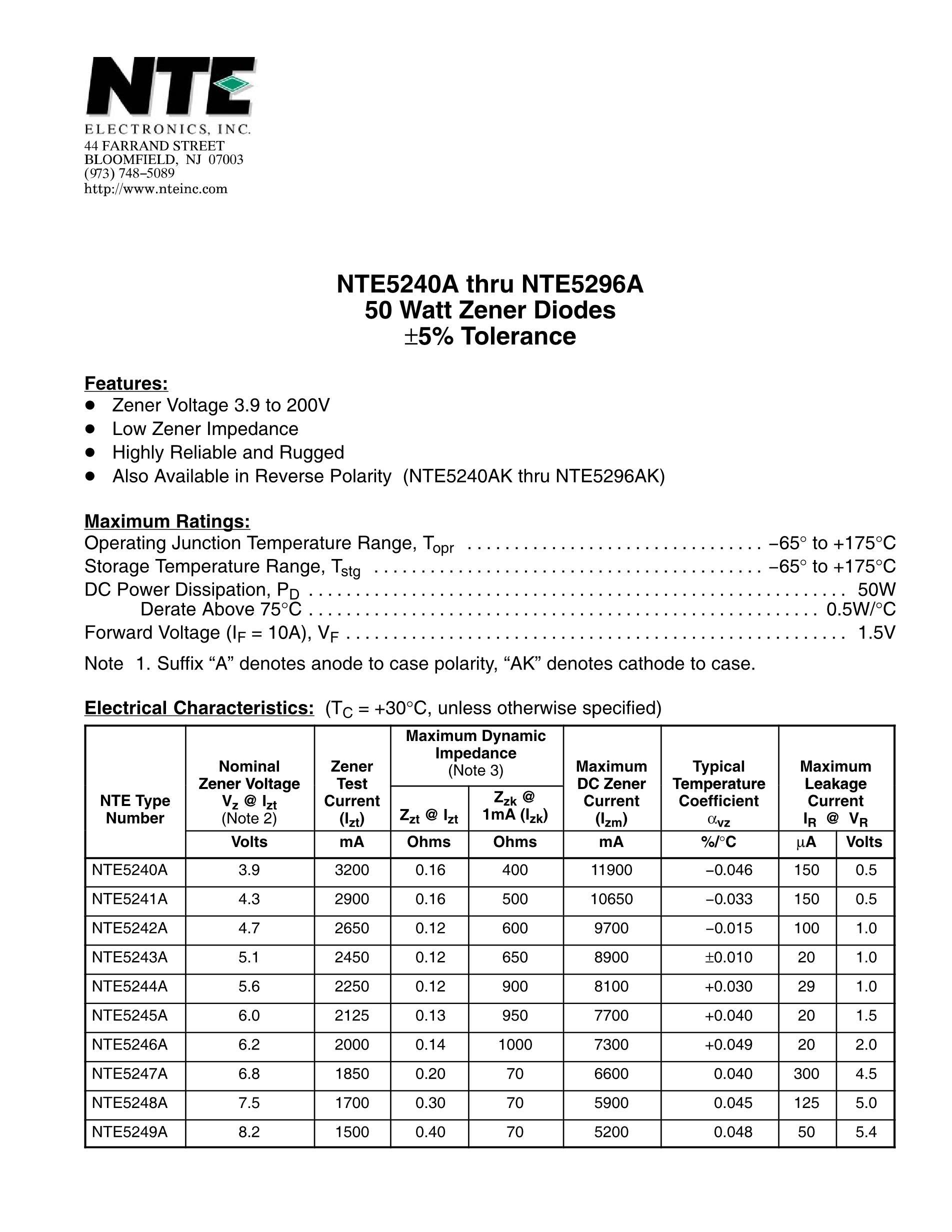 NTE56040's pdf picture 1