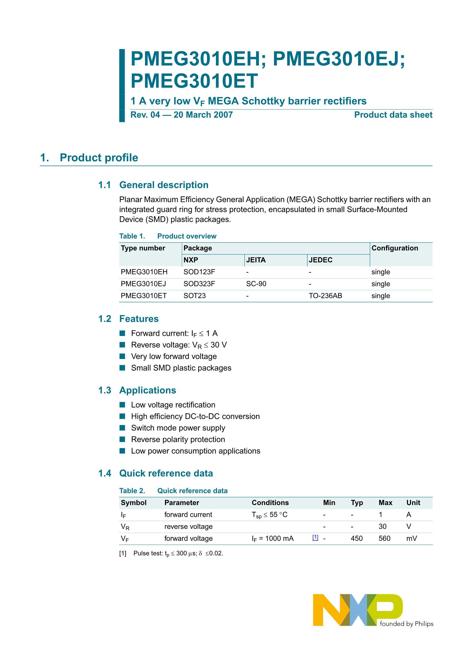 PMEG4002ESFYL's pdf picture 2