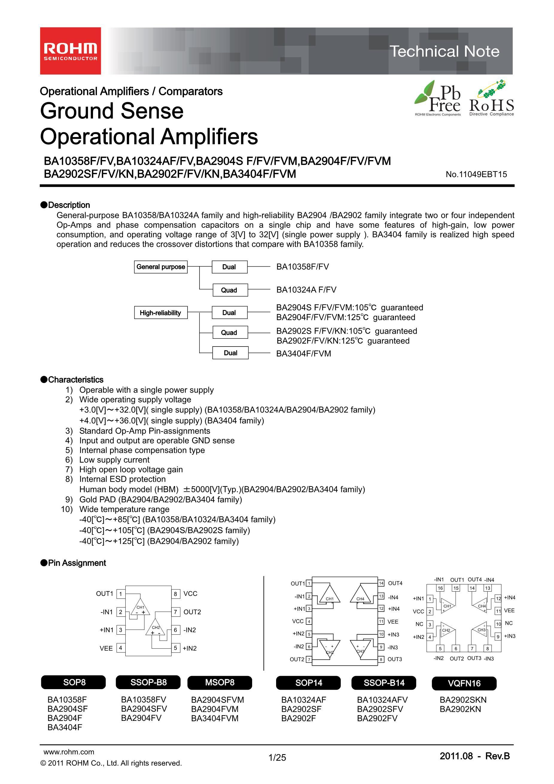 BA1033FV-E's pdf picture 1
