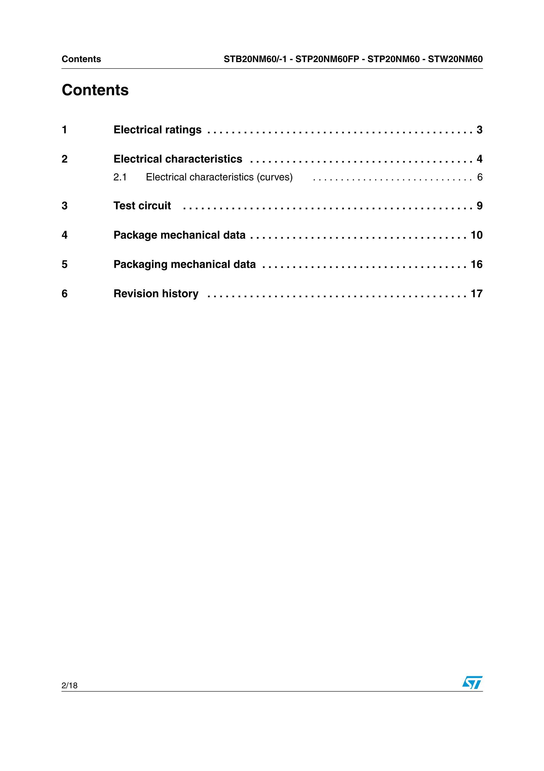STP20N10L's pdf picture 2