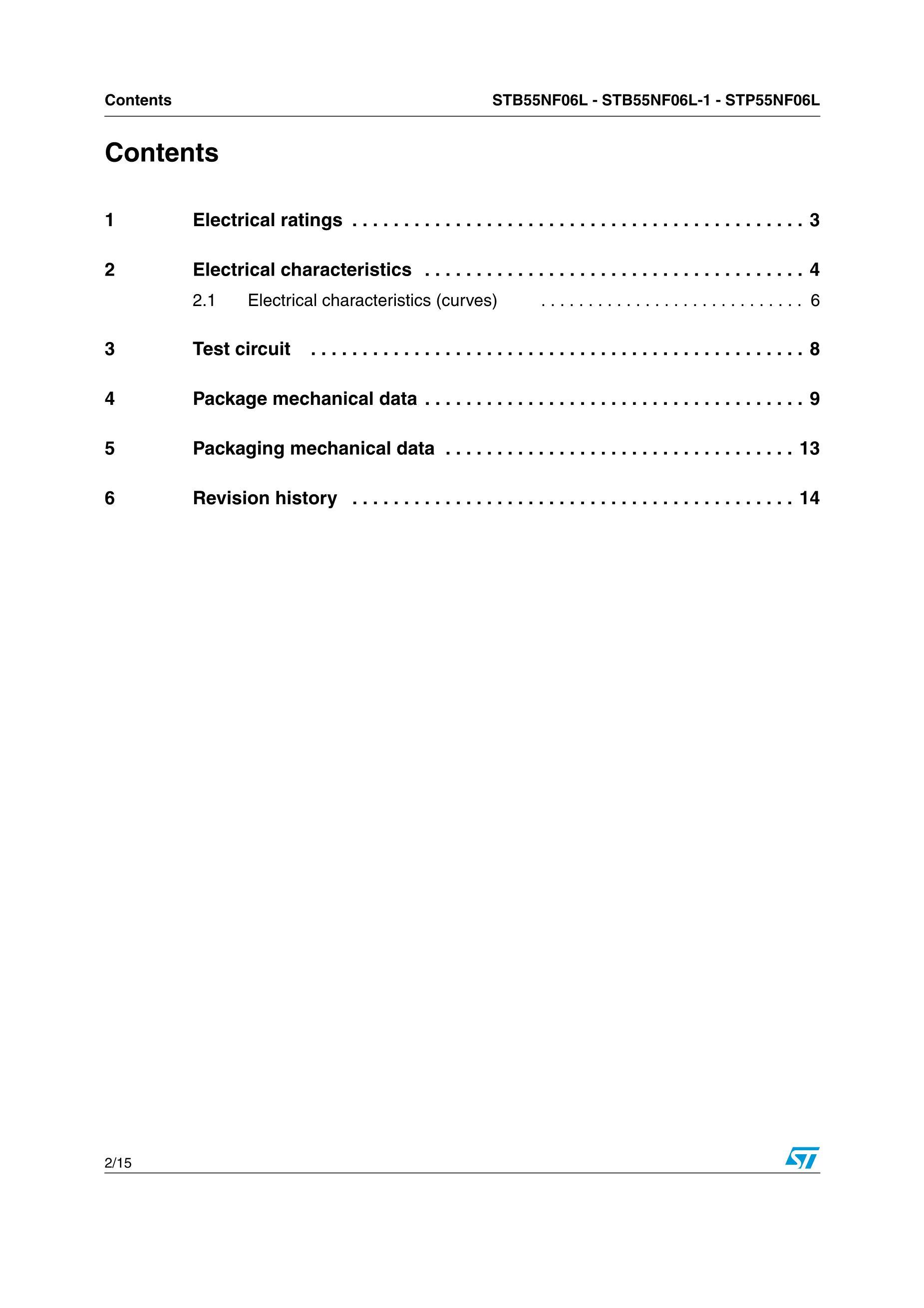 STP5N95K3's pdf picture 2
