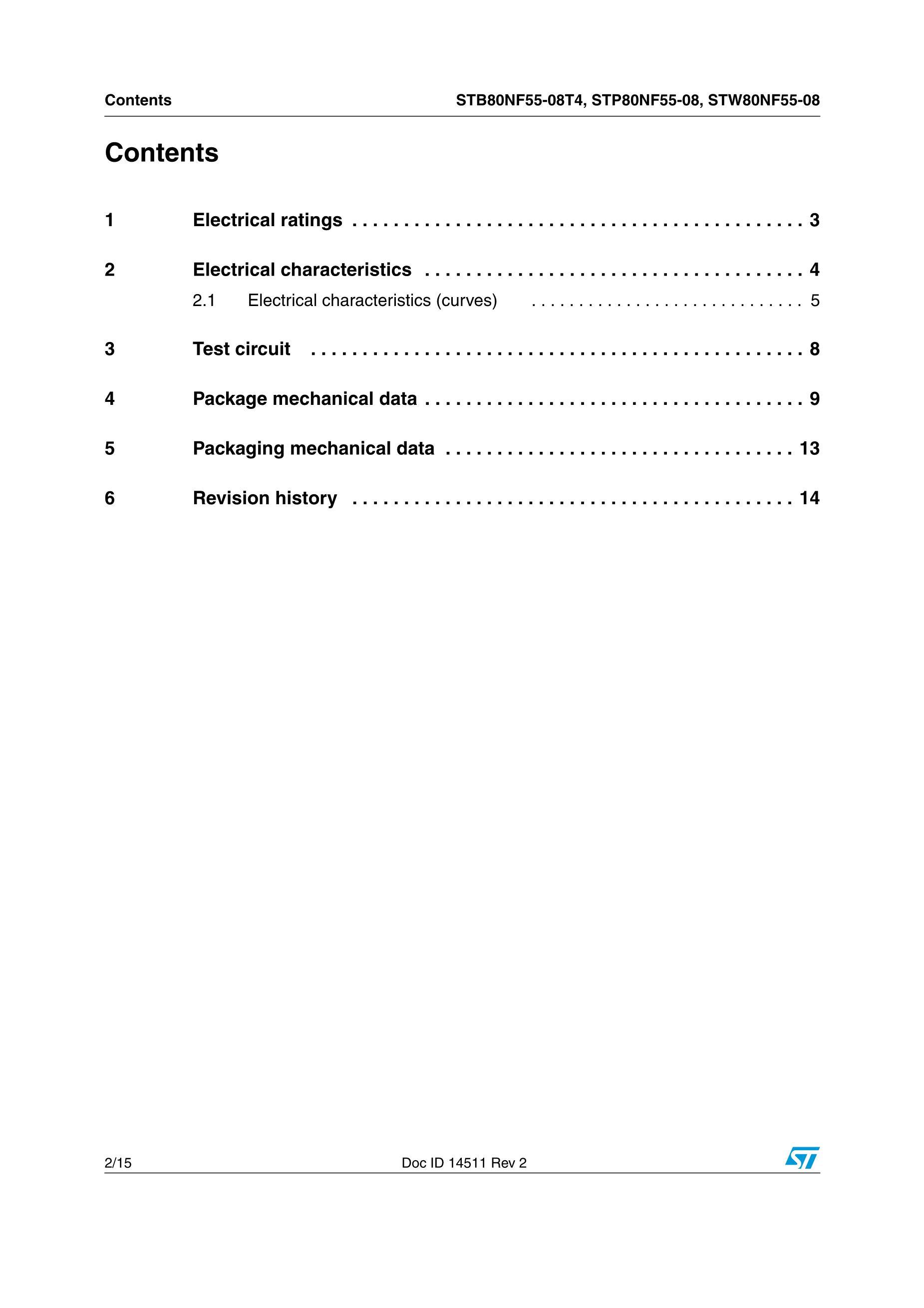 STP80N70F4's pdf picture 2