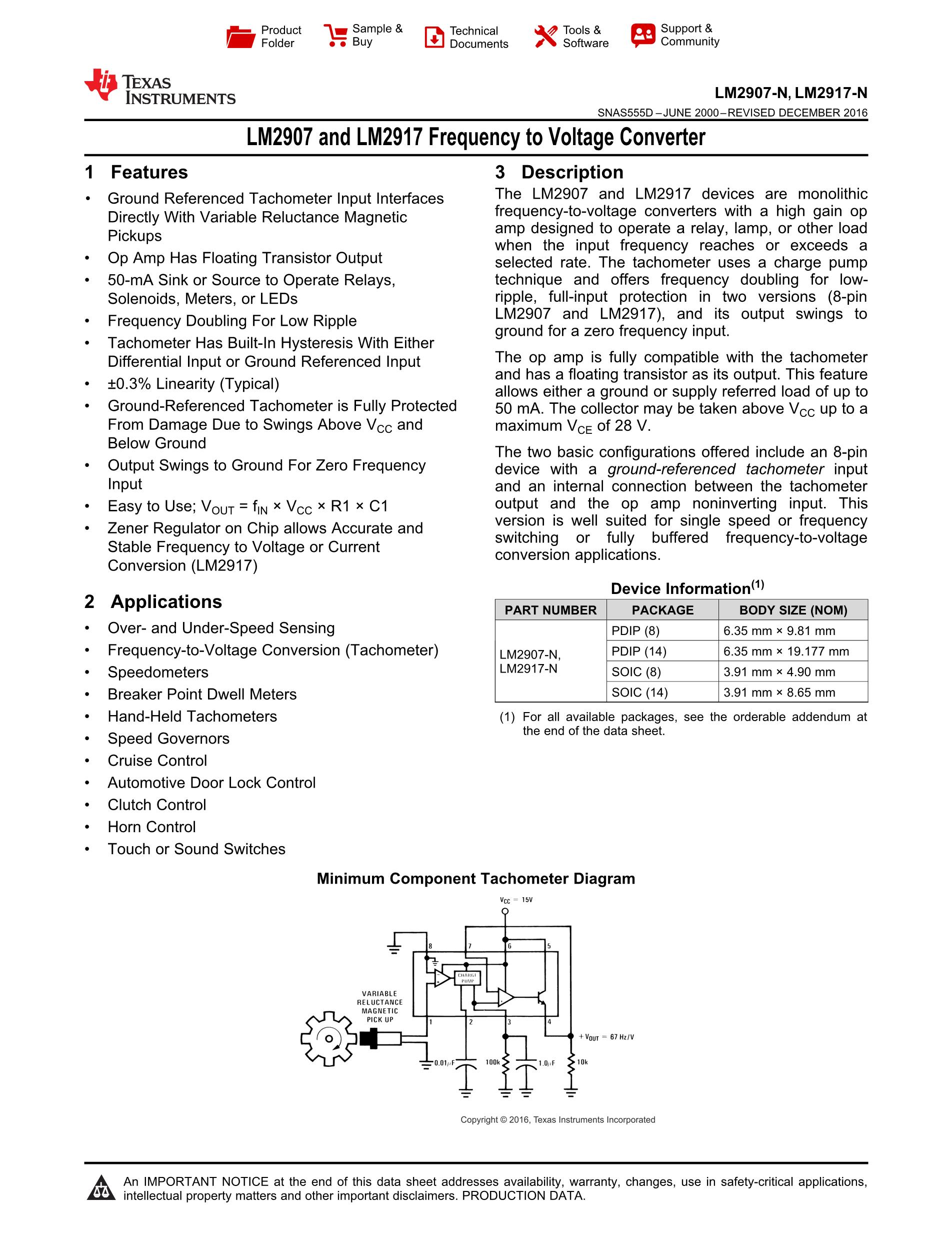 LM2917N-8's pdf picture 1