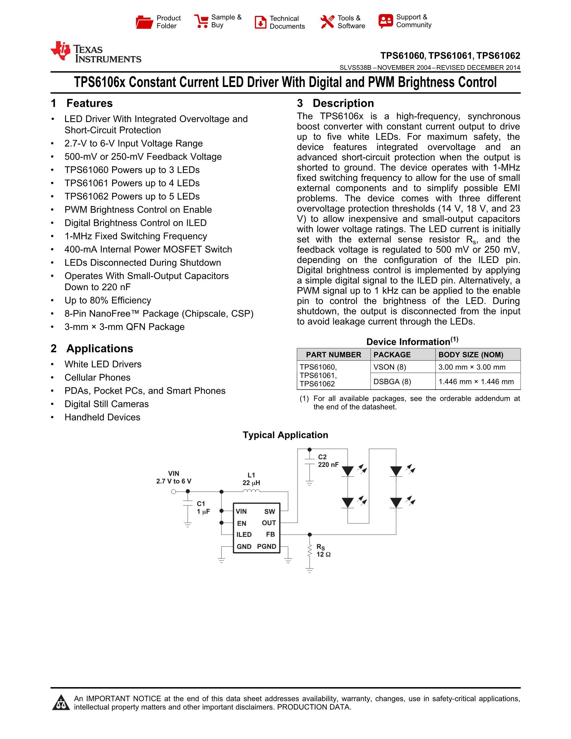 TPS65053RGETG4's pdf picture 1